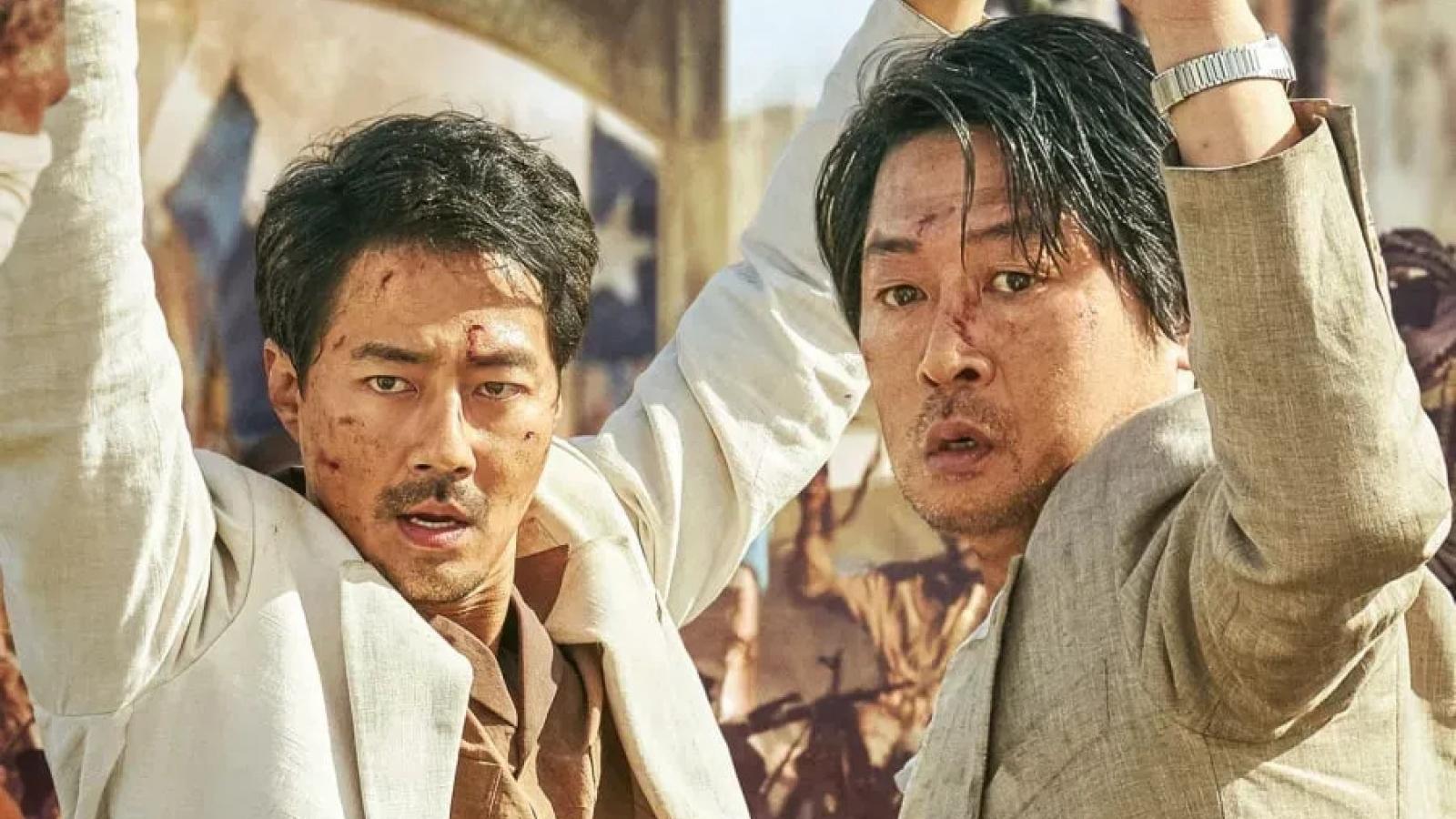 Bom tấn hành động của Jo In Sung lập kỷ lục bán 1 triệu vé giữa thời điểm đại dịch