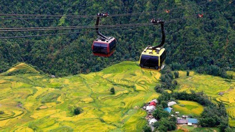 Fansipan cable car system adds to attractiveness of Sa Pa