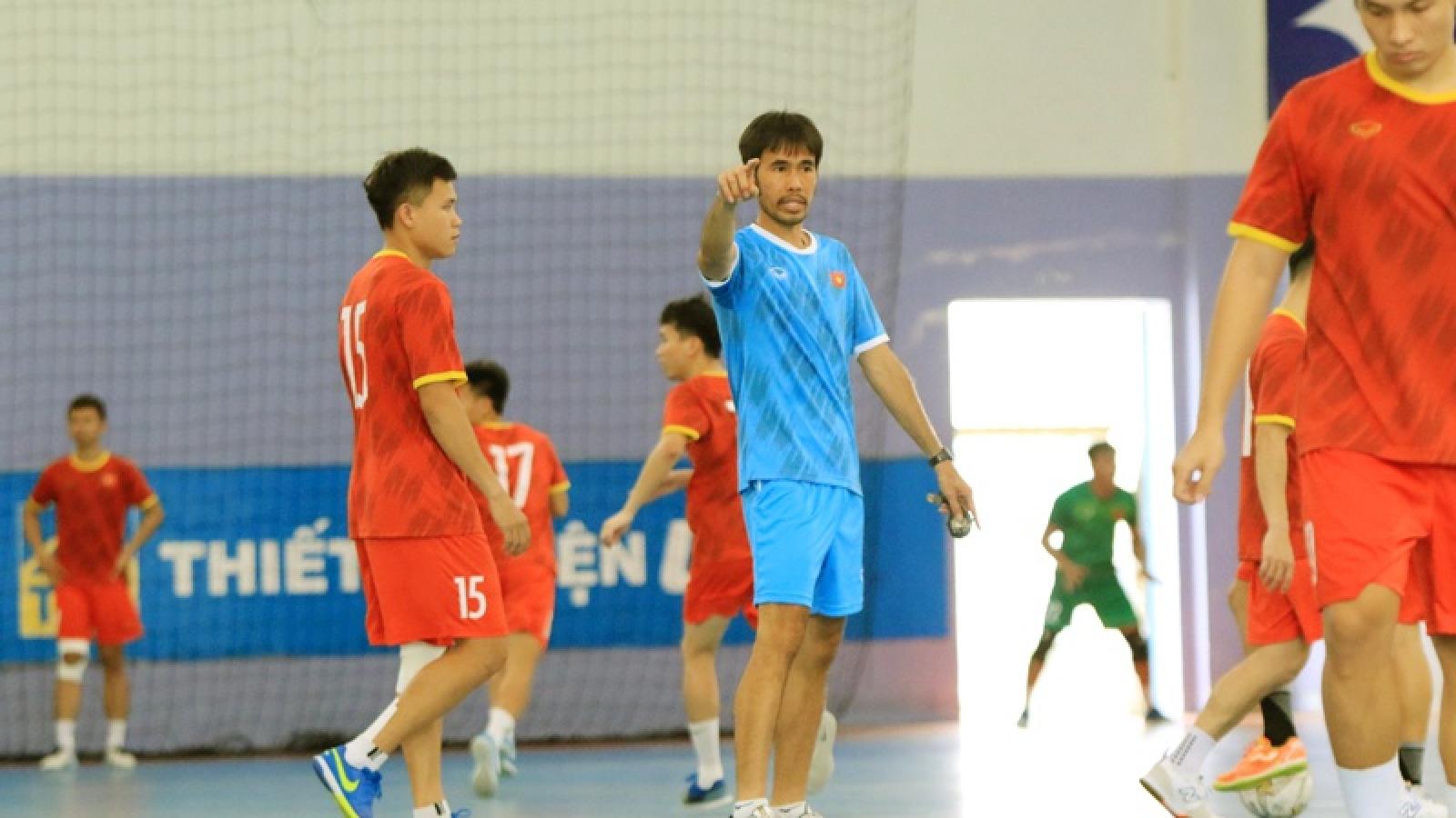 ĐT Futsal Việt Nam bất ngờ ra Hà Nội rèn quân, chuẩn bị cho mục tiêu lớn