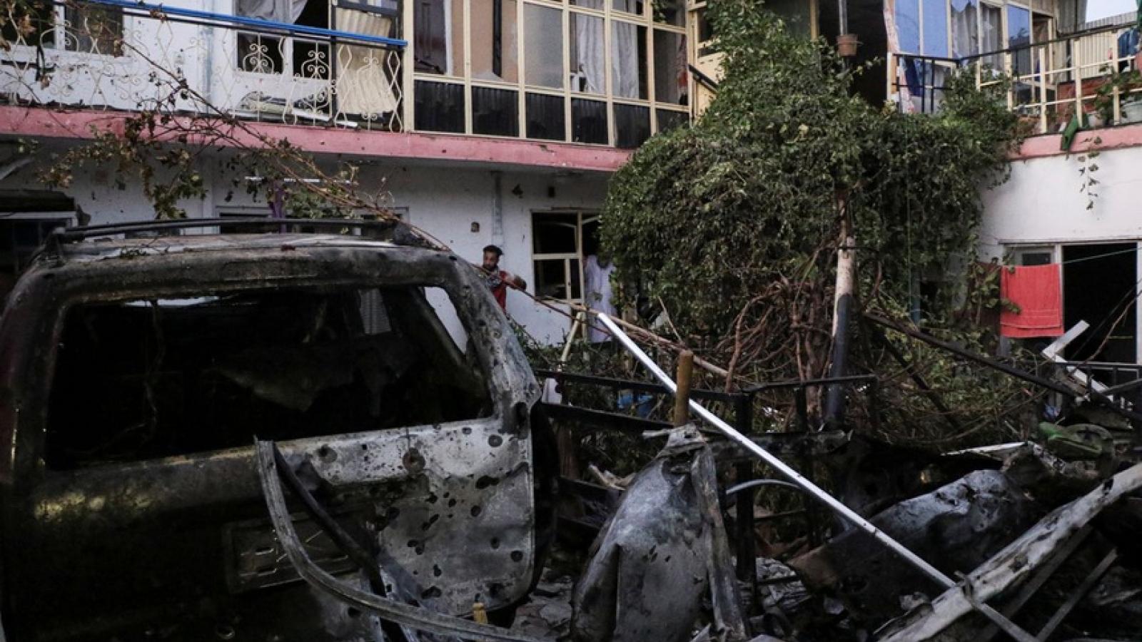 Mỹ không kích ở Kabul khiến 9 người trong một gia đình thiệt mạng