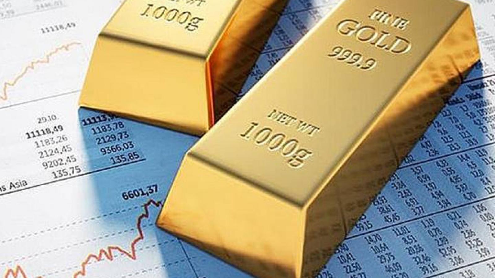 Vàng SJC và vàng thế giới đồng loạt giảm giá