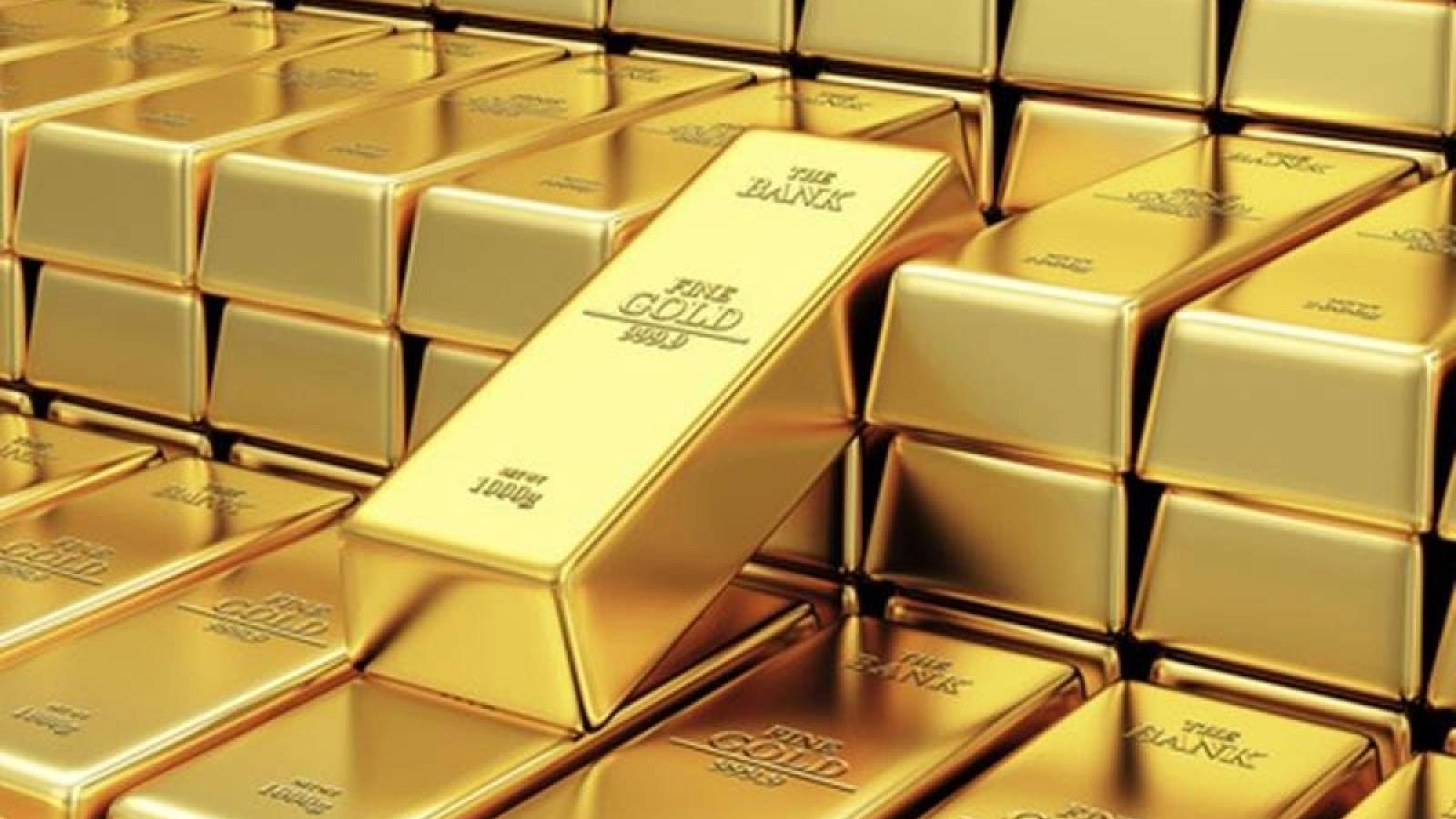 Giá vàng thế giới tăng nhẹ, vàng trong nước đứng yên phiên đầu tuần