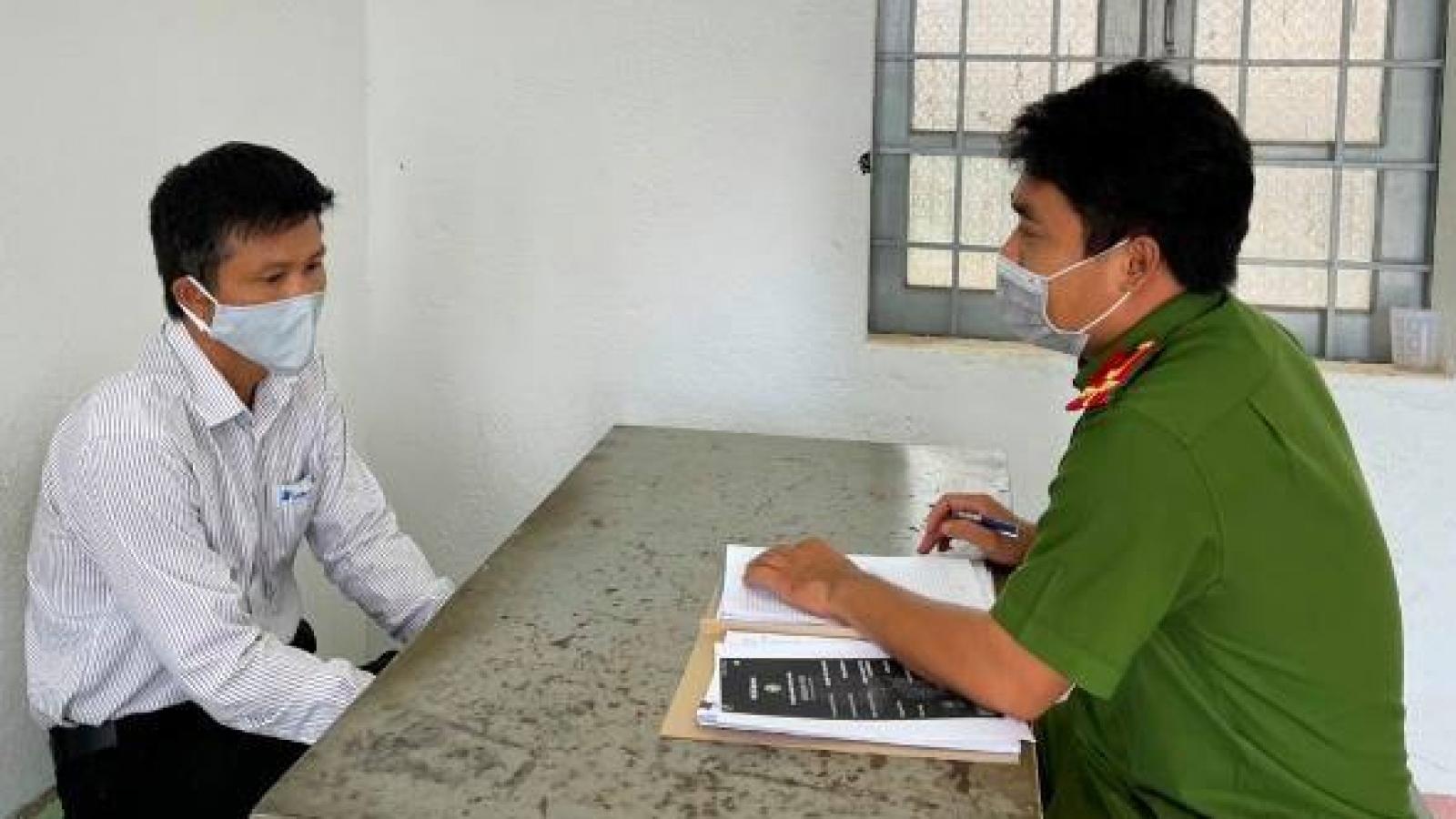 Tạm giữ Giám đốc Trung tâm Viễn thông Đắk Mil tham ô tài sản hàng trăm triệu đồng