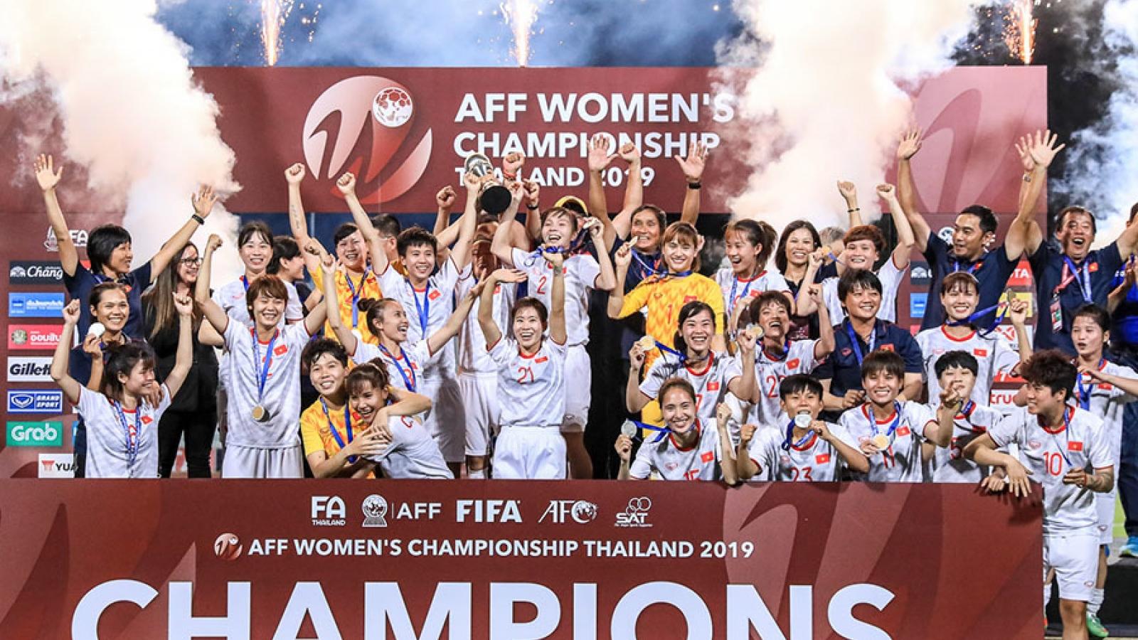 Ngày này năm xưa: ĐT nữ Việt Nam vô địch Đông Nam Á sau trận thắng kịch tính Thái Lan