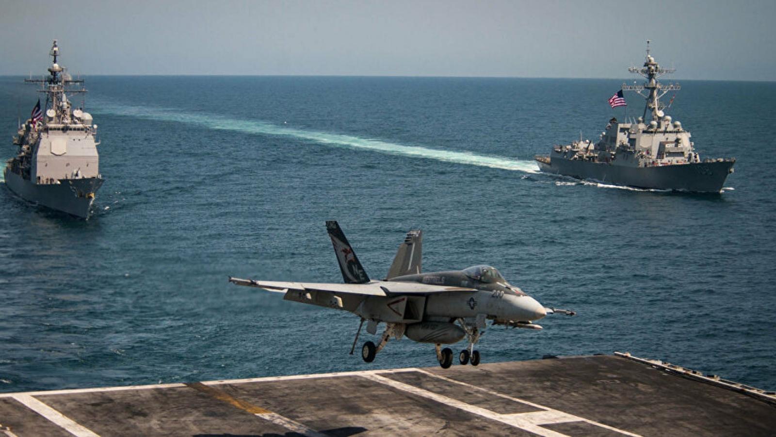 Hải quân Mỹ tổ chức diễn tập quy mô lớn trên 17 múi giờ