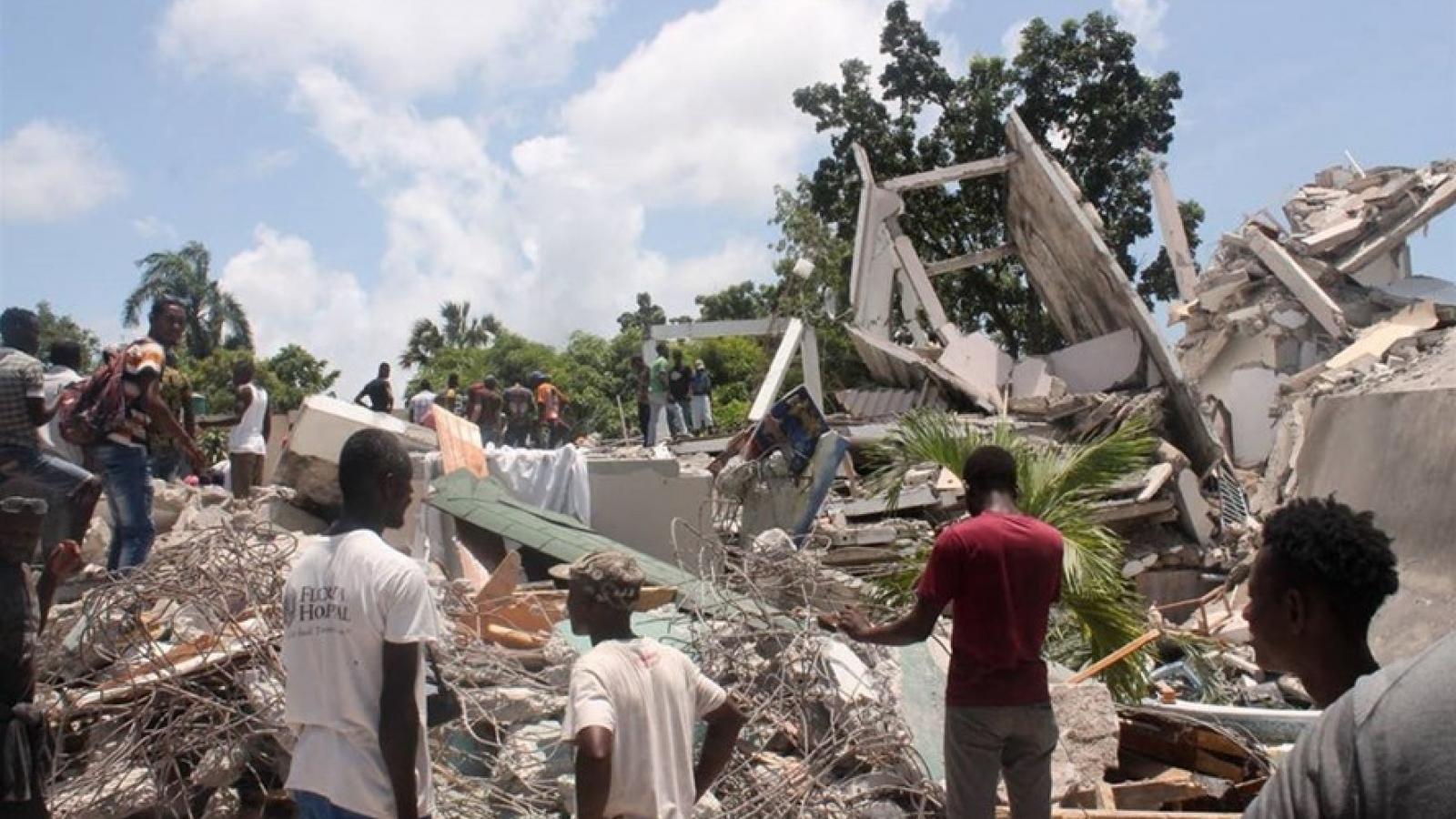 Hơn 1.400 người tử vong và 6.000 người bị thương trong trận động đất ở Haiti