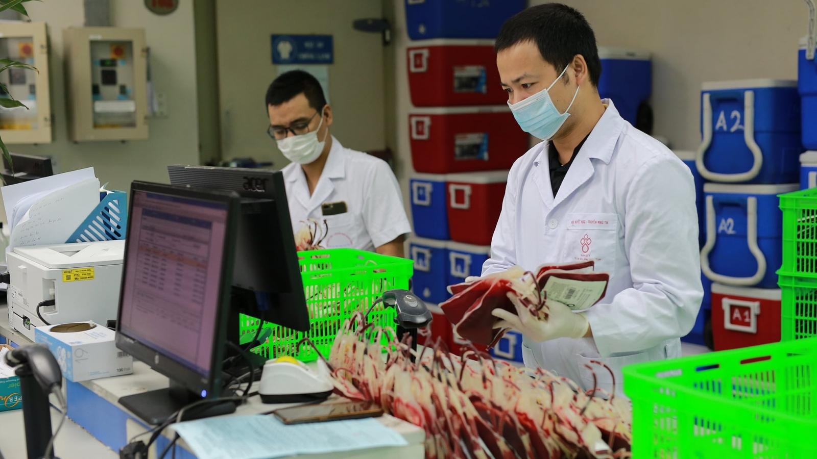 Kỷ lục trong 1 ngày cung cấp gần 3.000 đơn vị máu khắp cả nước