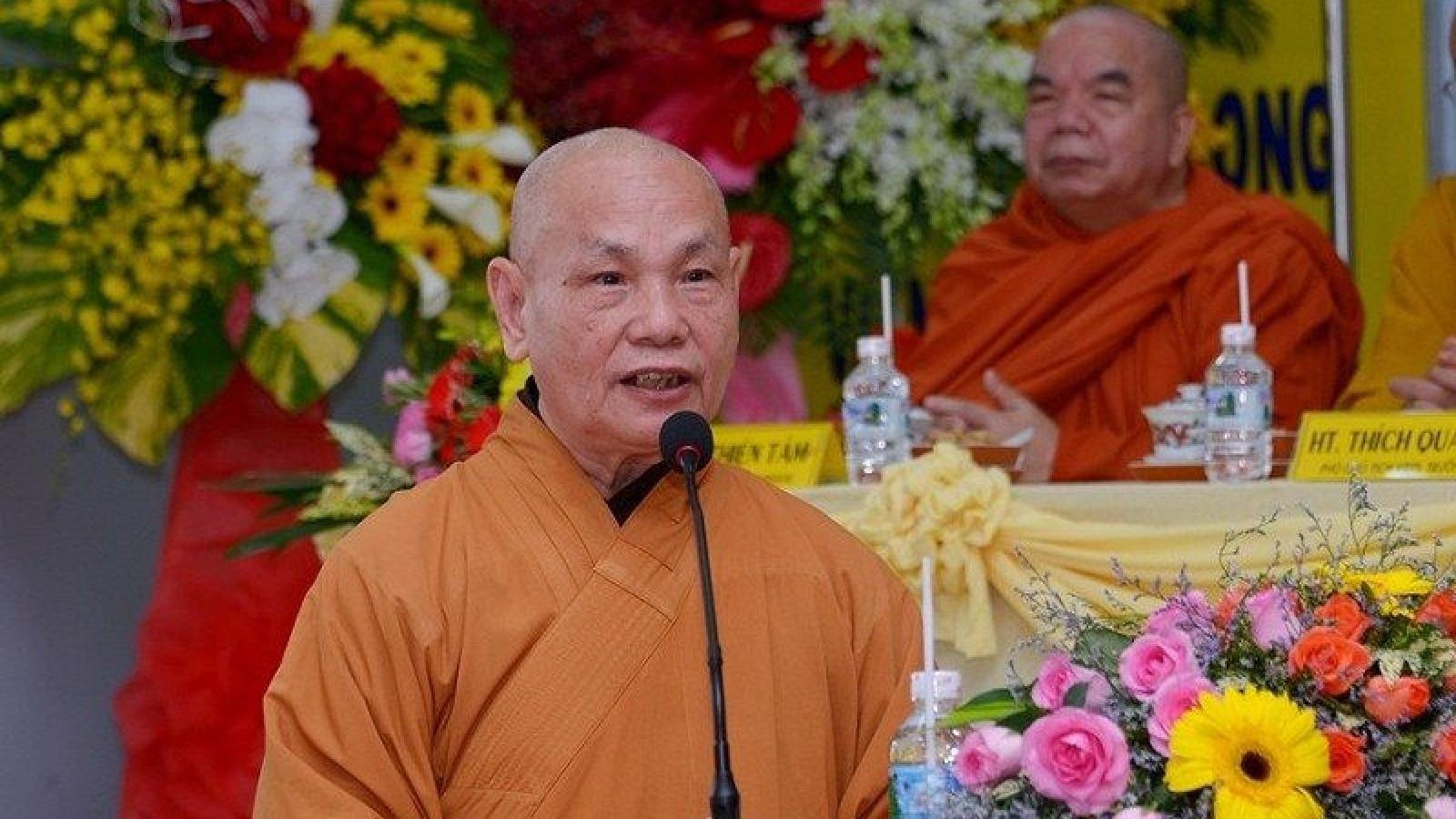 Giáo hội Phật giáo Việt Nam lan tỏa phong trào bữa cơm yêu thương trong vùng tâm dịch