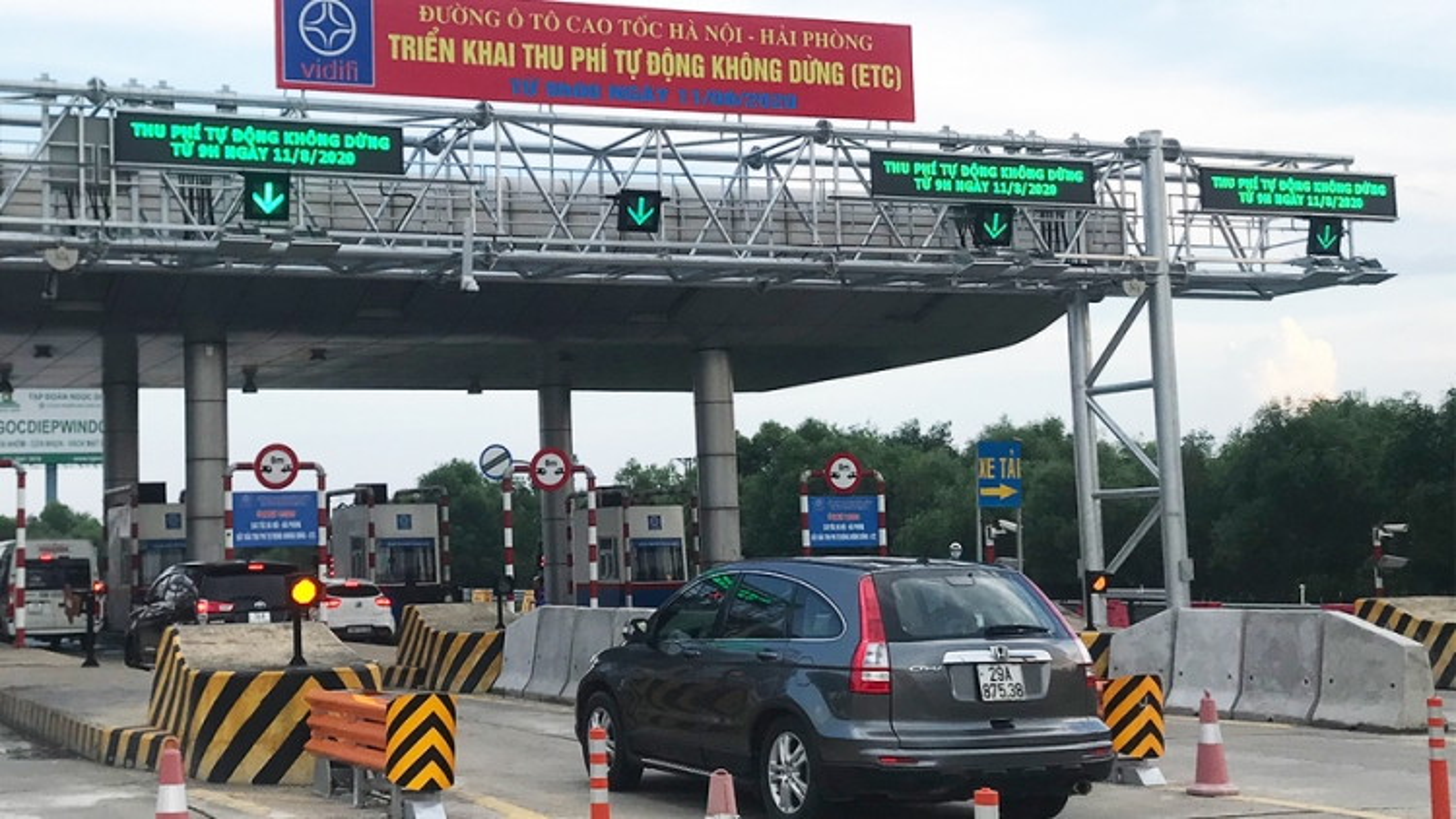 Đề xuất giảm 30% giá vé cho xe lưu thông cao tốc Hà Nội-Hải Phòng
