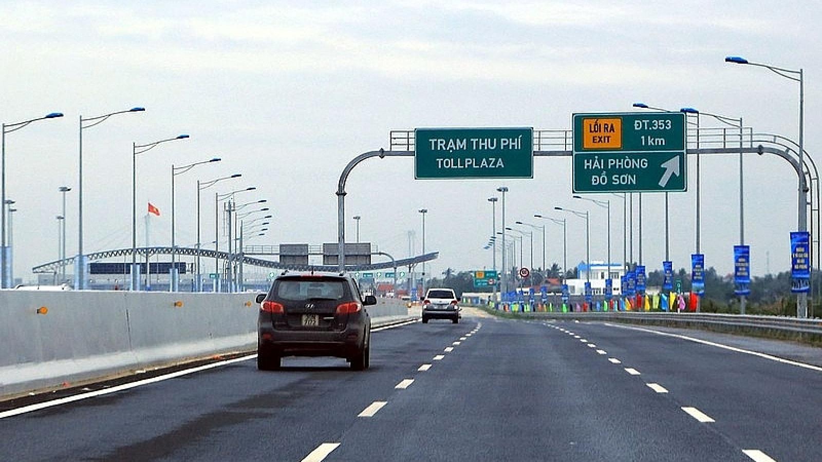 Chính thức giảm phí cao tốc Hà Nội - Hải Phòng
