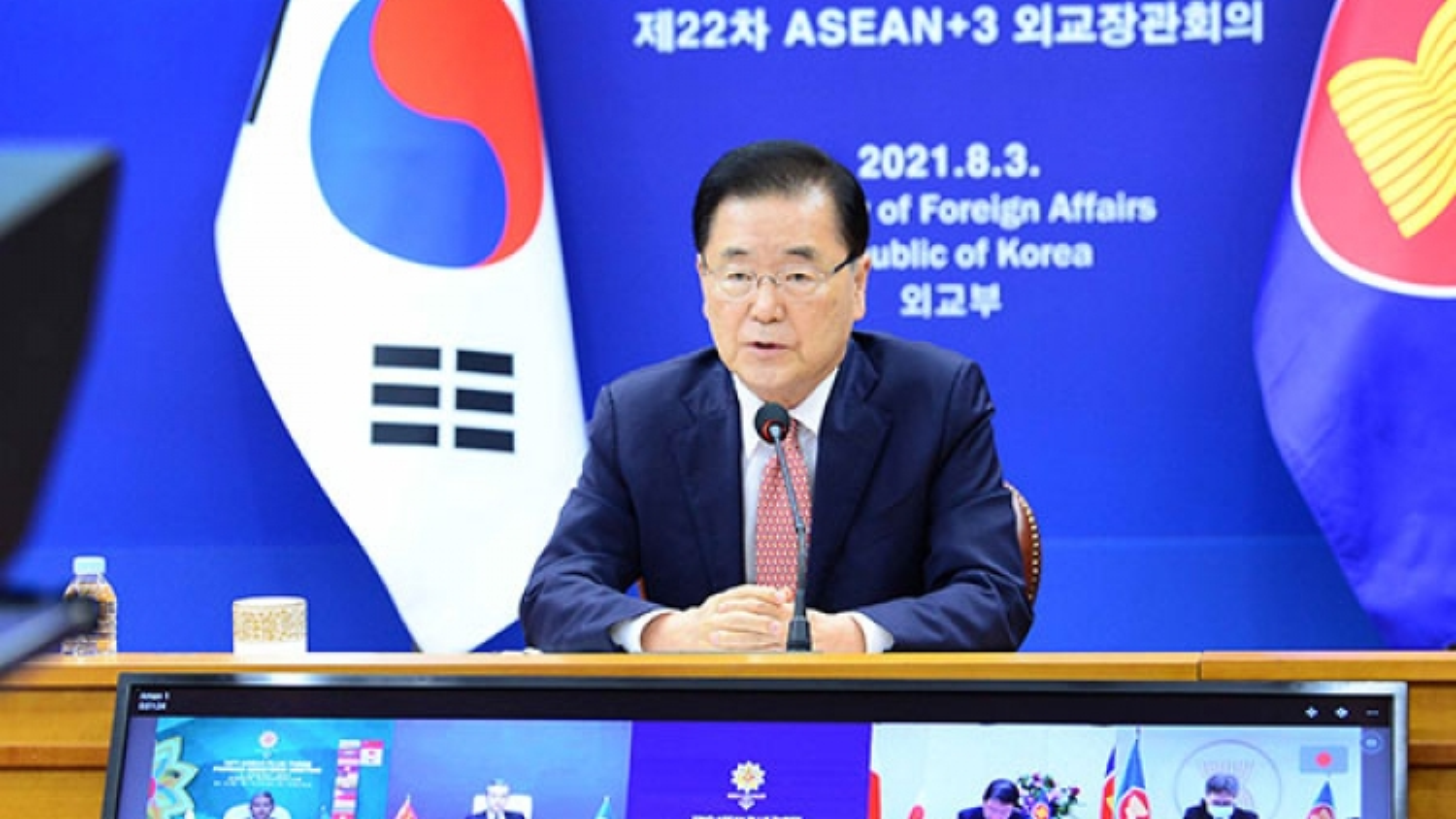 Hàn Quốc thể hiện quyết tâm nối lại đối thoại liên Triều, hợp tác trong vấn đề Biển Đông