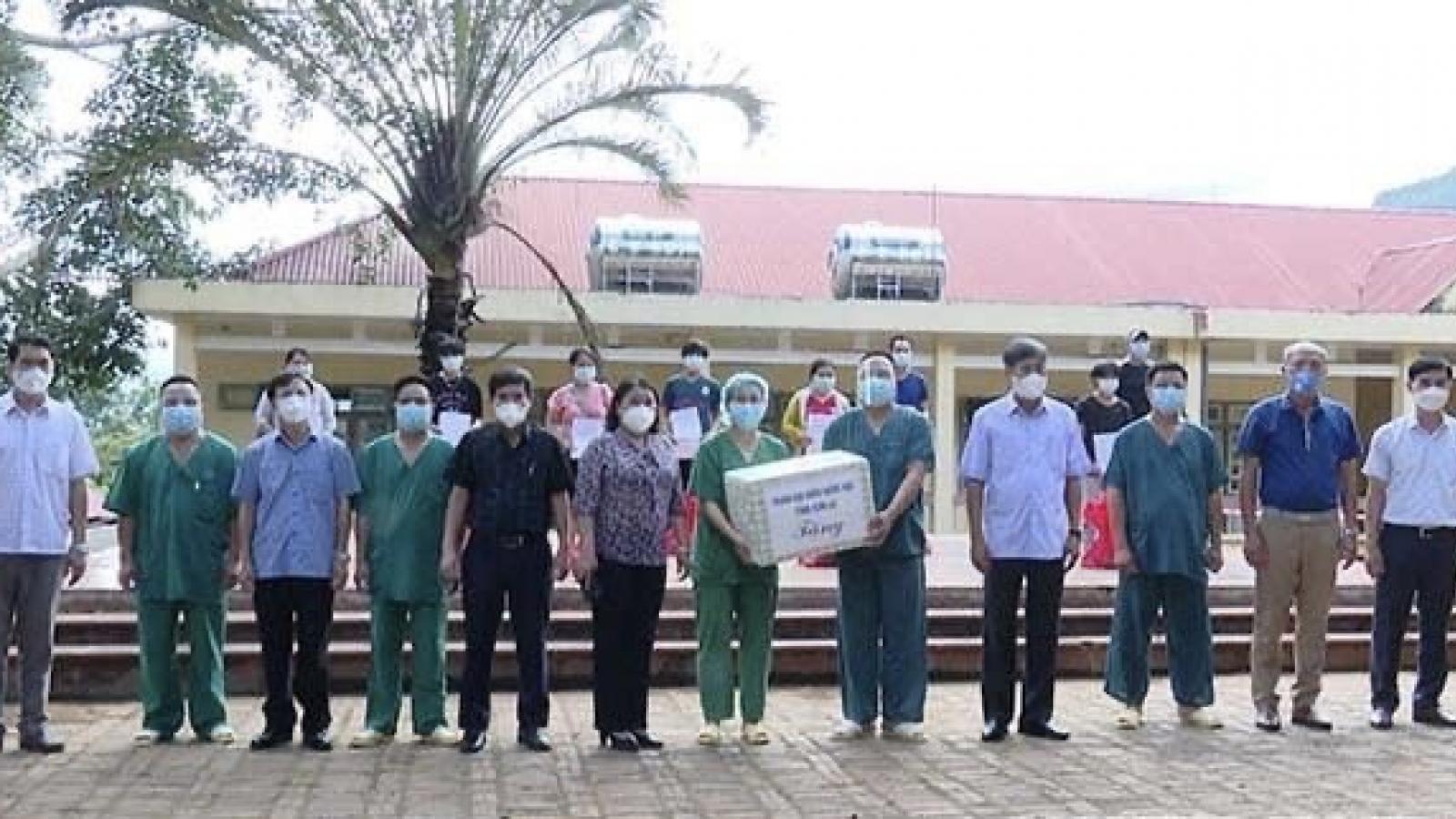 25 F0 tại Sơn La điều trị khỏi bệnh được xuất viện
