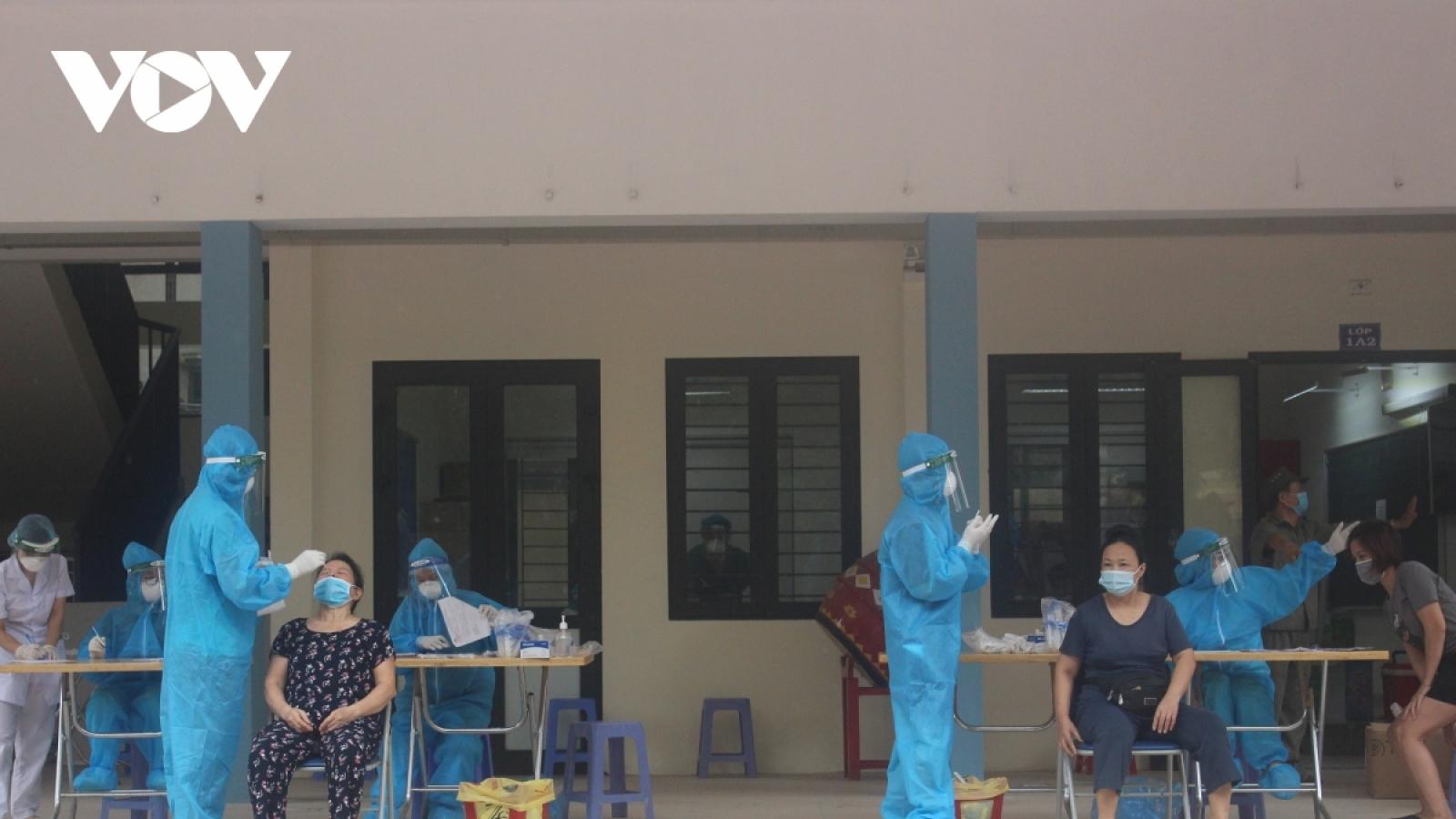 Hà Nội đặt mục tiêu kiểm soát dịch Covid-19 trước ngày 15/9