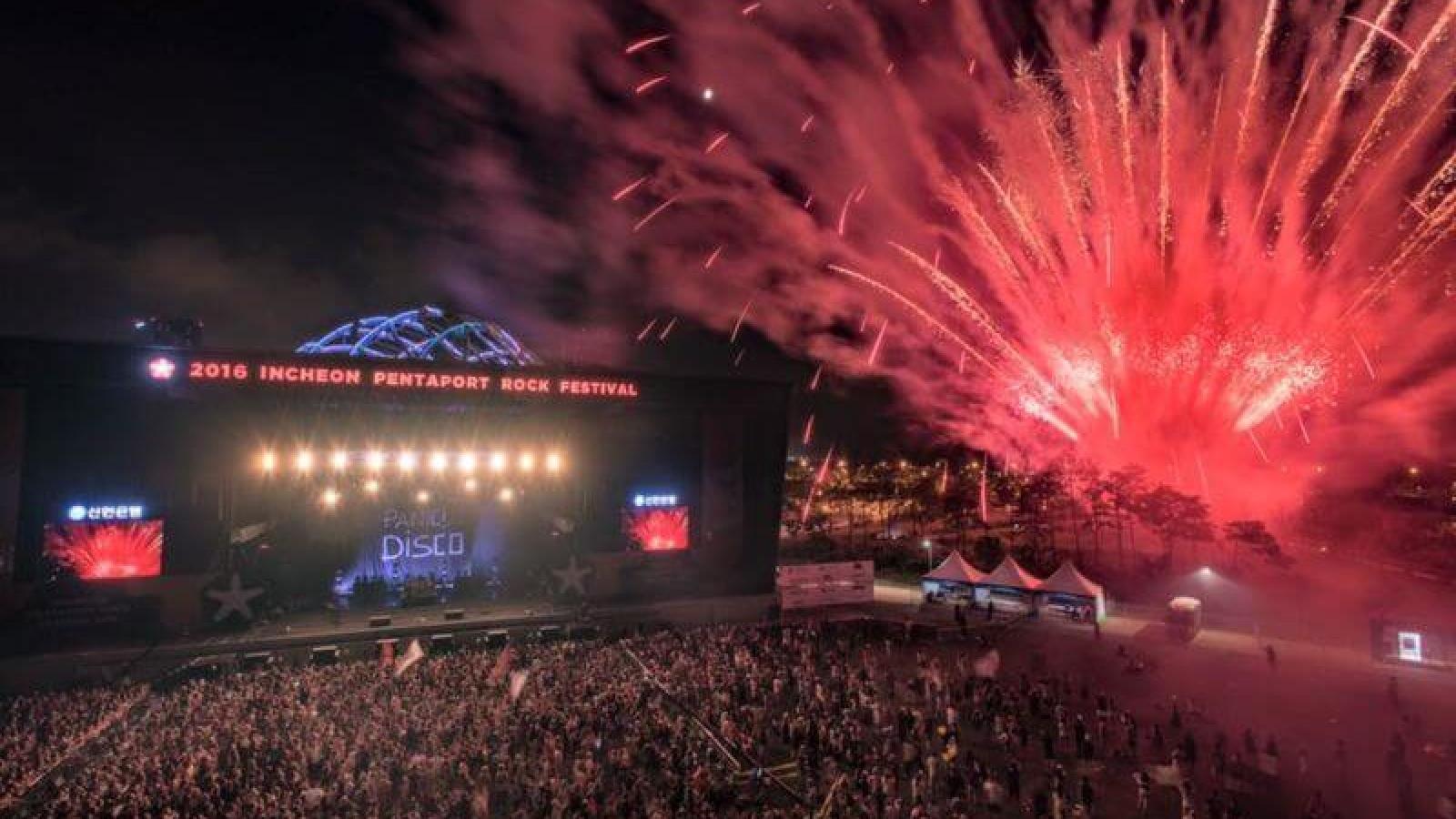 Lễ hội nhạc rock Incheon, Hàn Quốc hoãn đến tháng 10