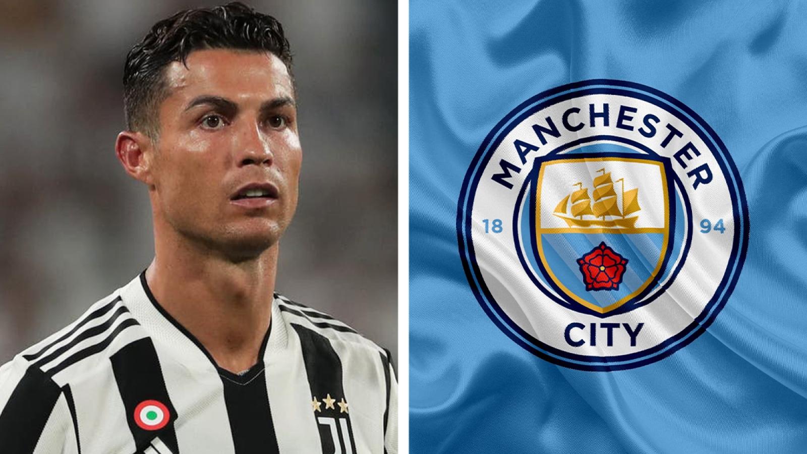 """Chuyển nhượng 26/8: Man City đưa ra đề nghị """"khủng"""" với Ronaldo"""