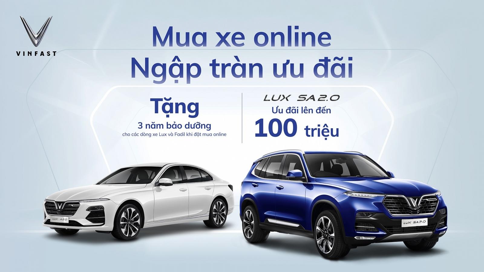 VinFast thiết lập chuẩn mới trong kinh doanh ô tô trực tuyến tại Việt Nam