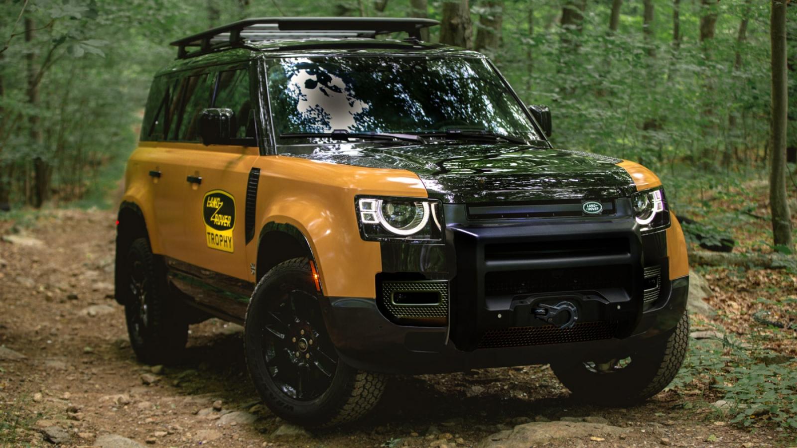 Land Rover Defender có phiên bản đặc biệt giới hạn 220 xe