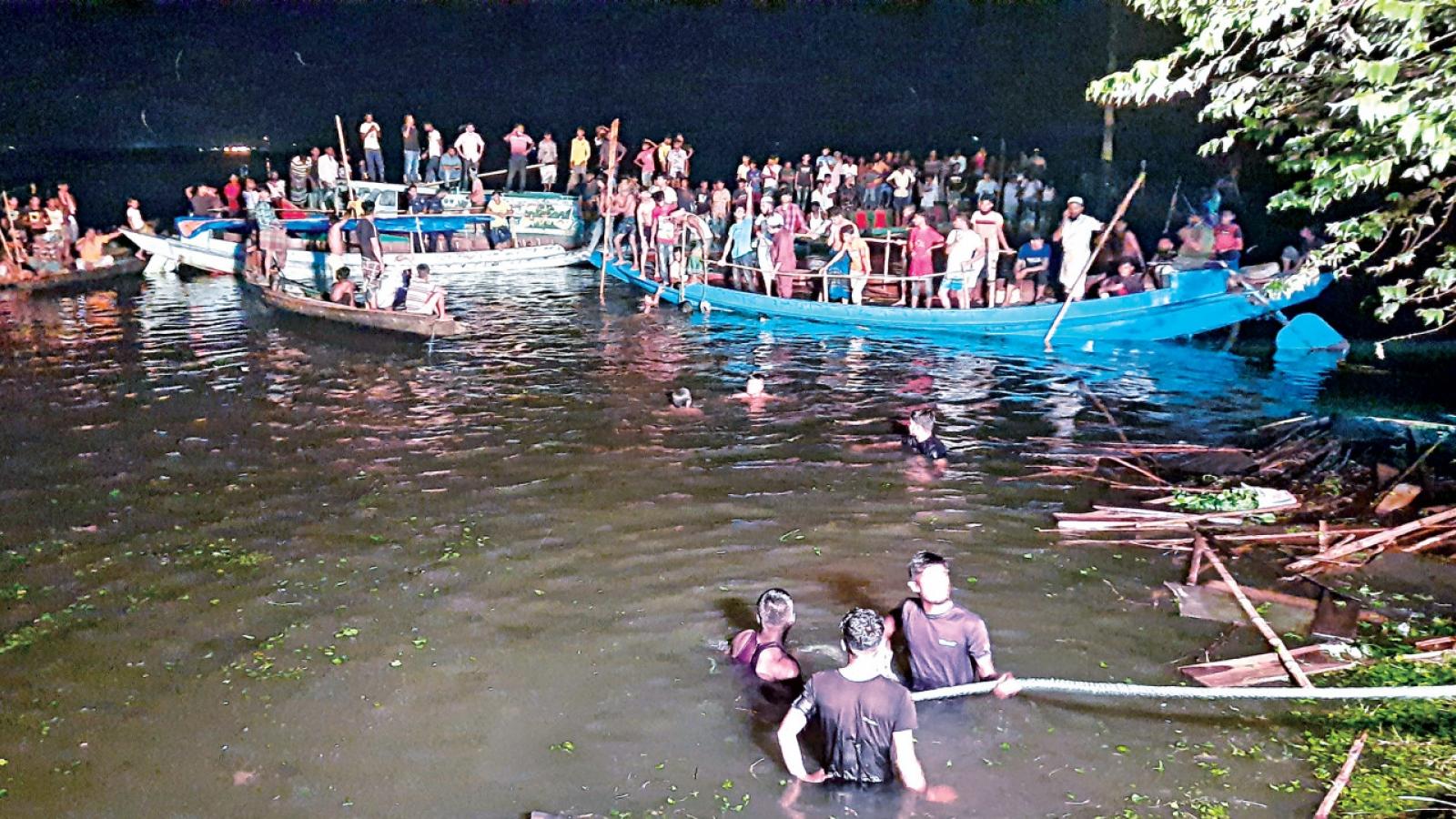 Ít nhất 19 người thiệt mạng trong vụ lật thuyền ở Bangladesh