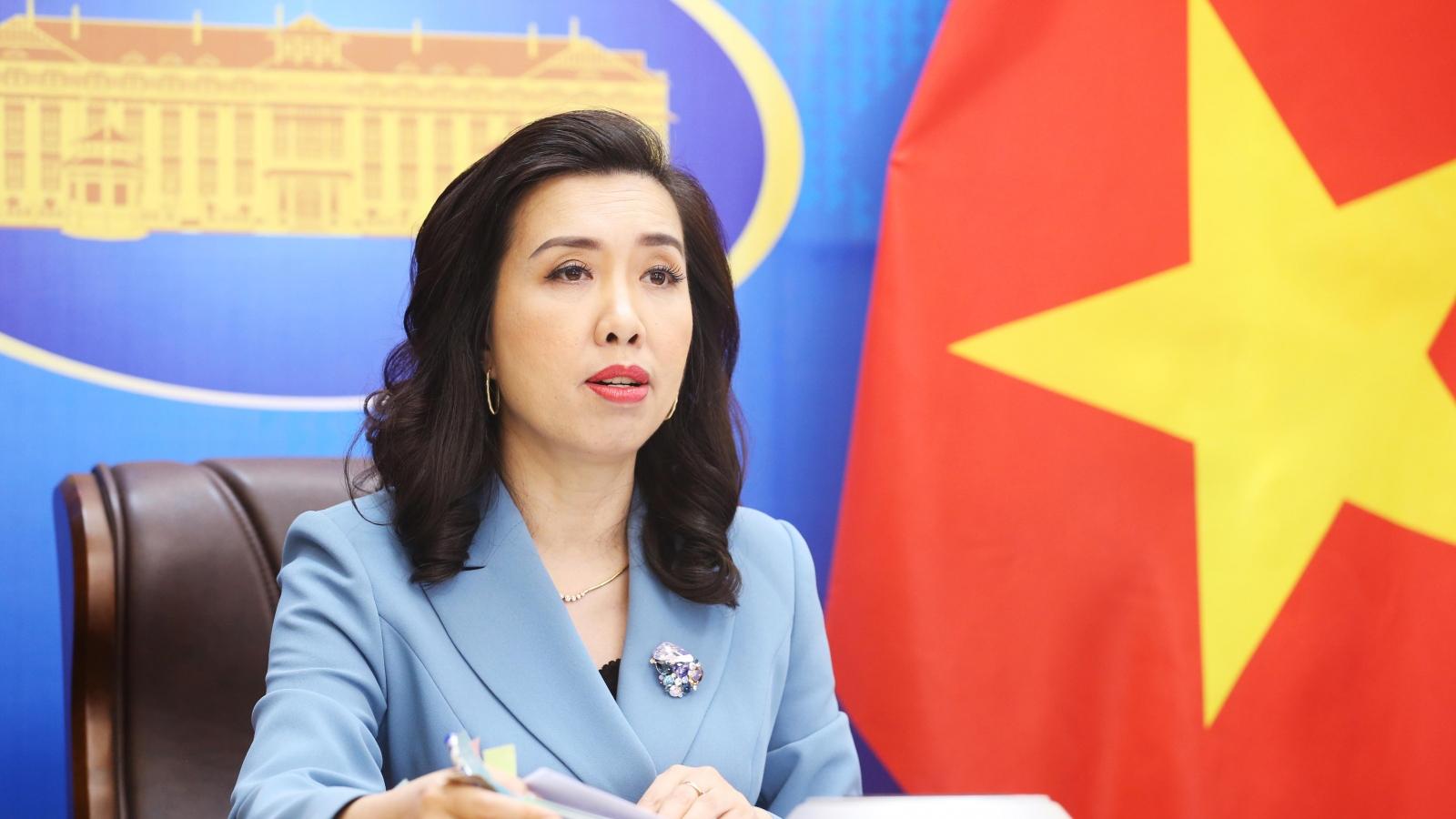 Yêu cầu Trung Quốc tôn trọng chủ quyền của Việt Nam đối với Hoàng Sa