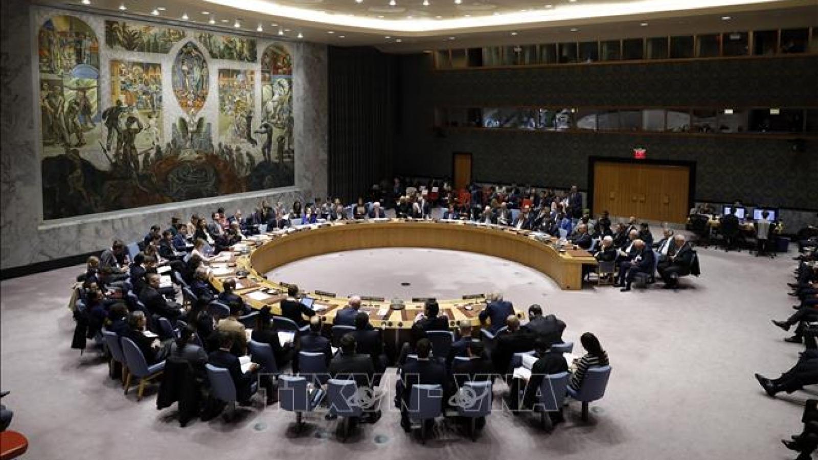 Hội đồng Bảo an Liên Hợp Quốc thông qua nghị quyết về Afghanistan