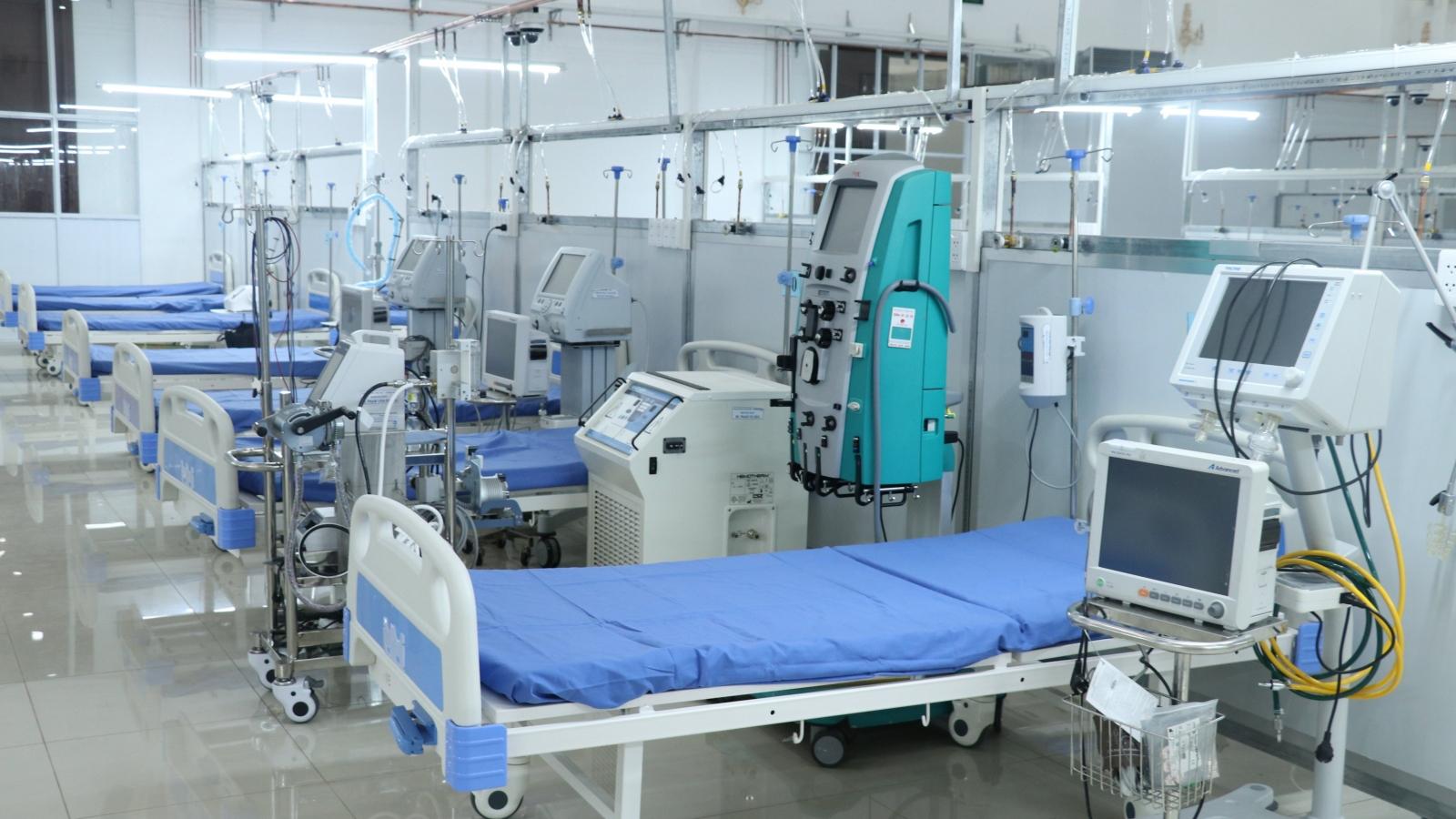 Long An đưa vào hoạt động Trung tâm điều trị Covid-19 nặng và nguy kịch