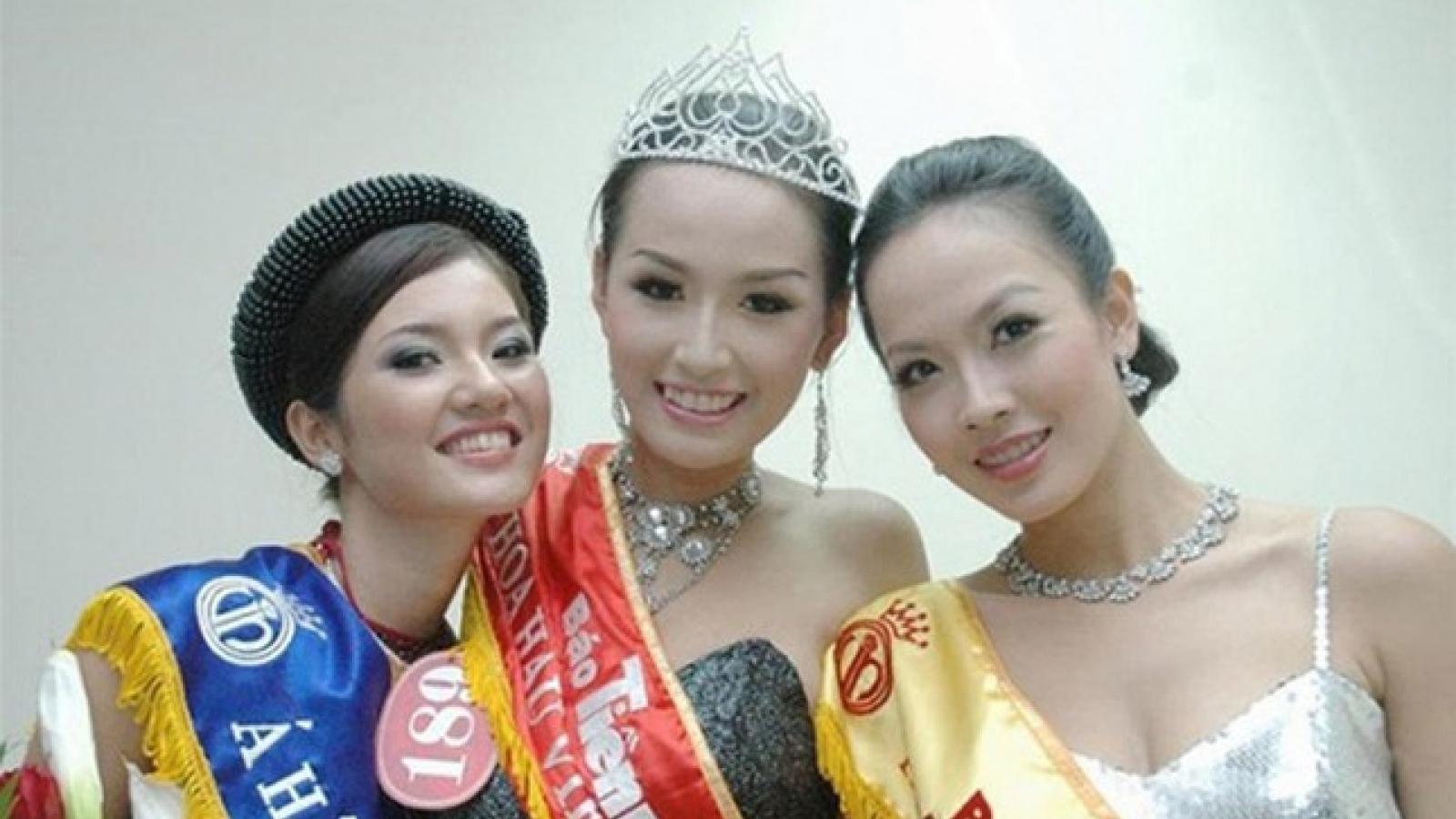 Top 3 Hoa hậu Việt Nam 2006 sau 15 năm đăng quang