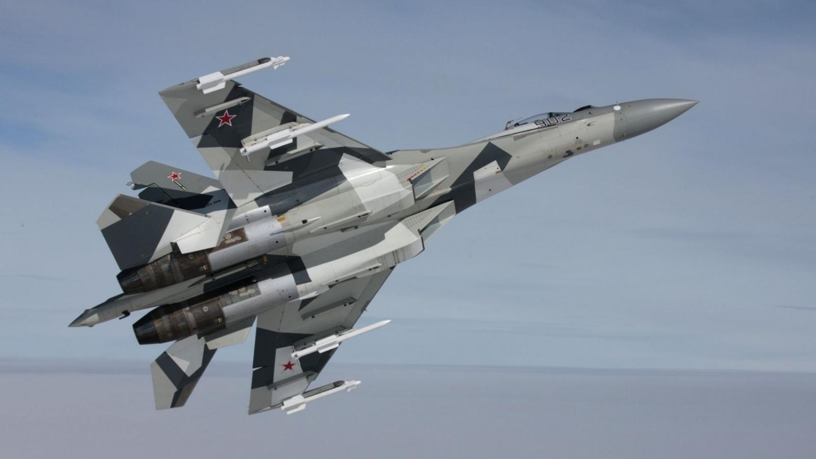 Máy bay Su-35 rơi ở Viễn Đông Nga do lỗi động cơ, phi công thoát chết