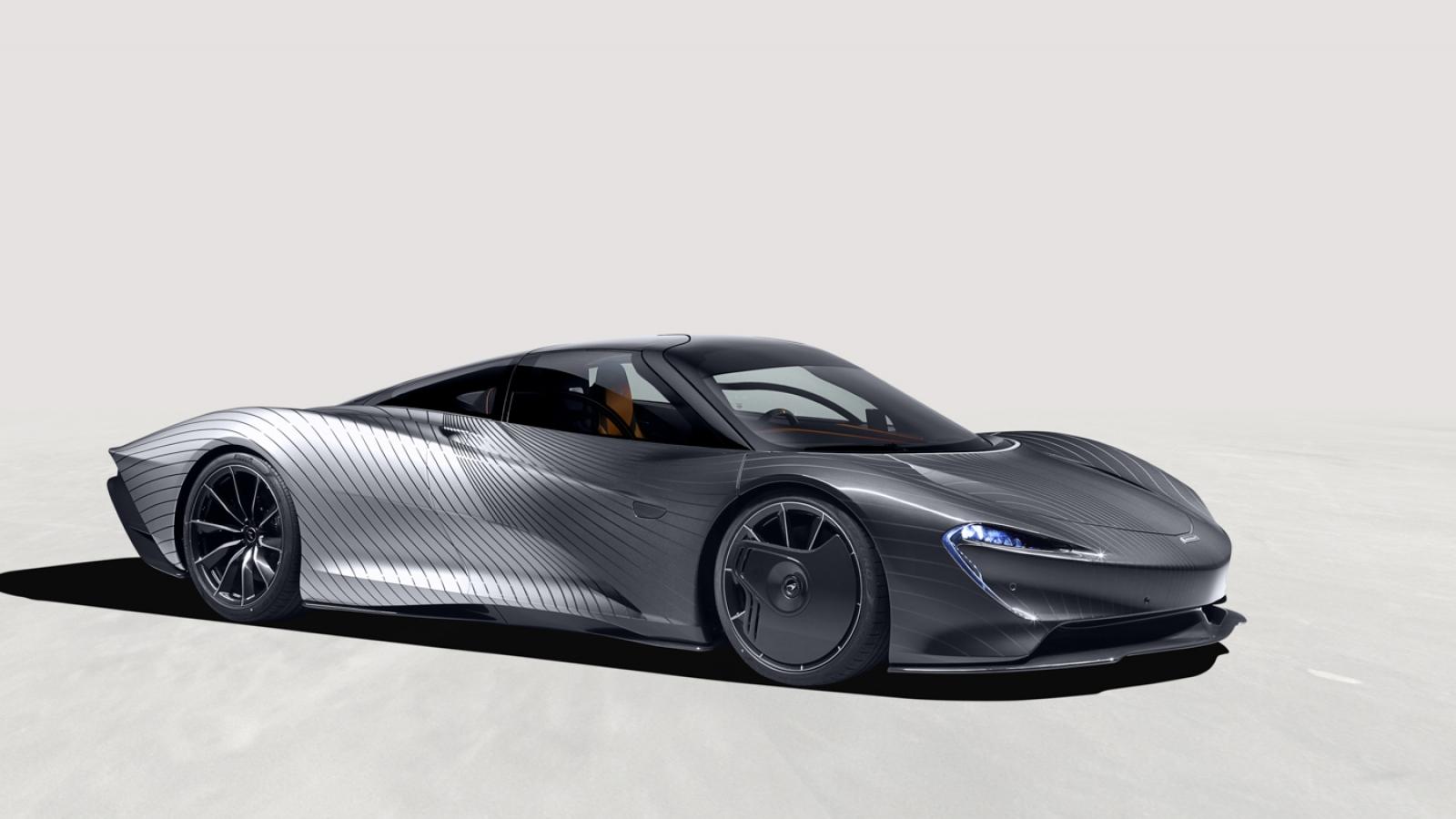 McLaren Speedtail cuối cùng xuất xưởng với giá hơn 2 triệu USD