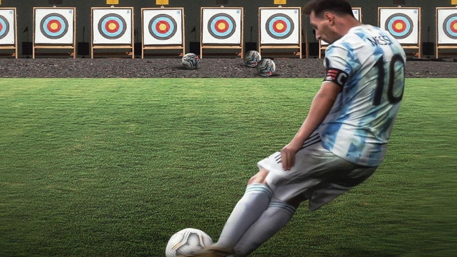 Vũ trụ bóng đá ngược đời: Messi, Ronaldo rủ nhau đi thi Olympic