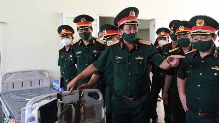 1,000 Hanoi military doctors join COVID-19 frontline forces in HCM City