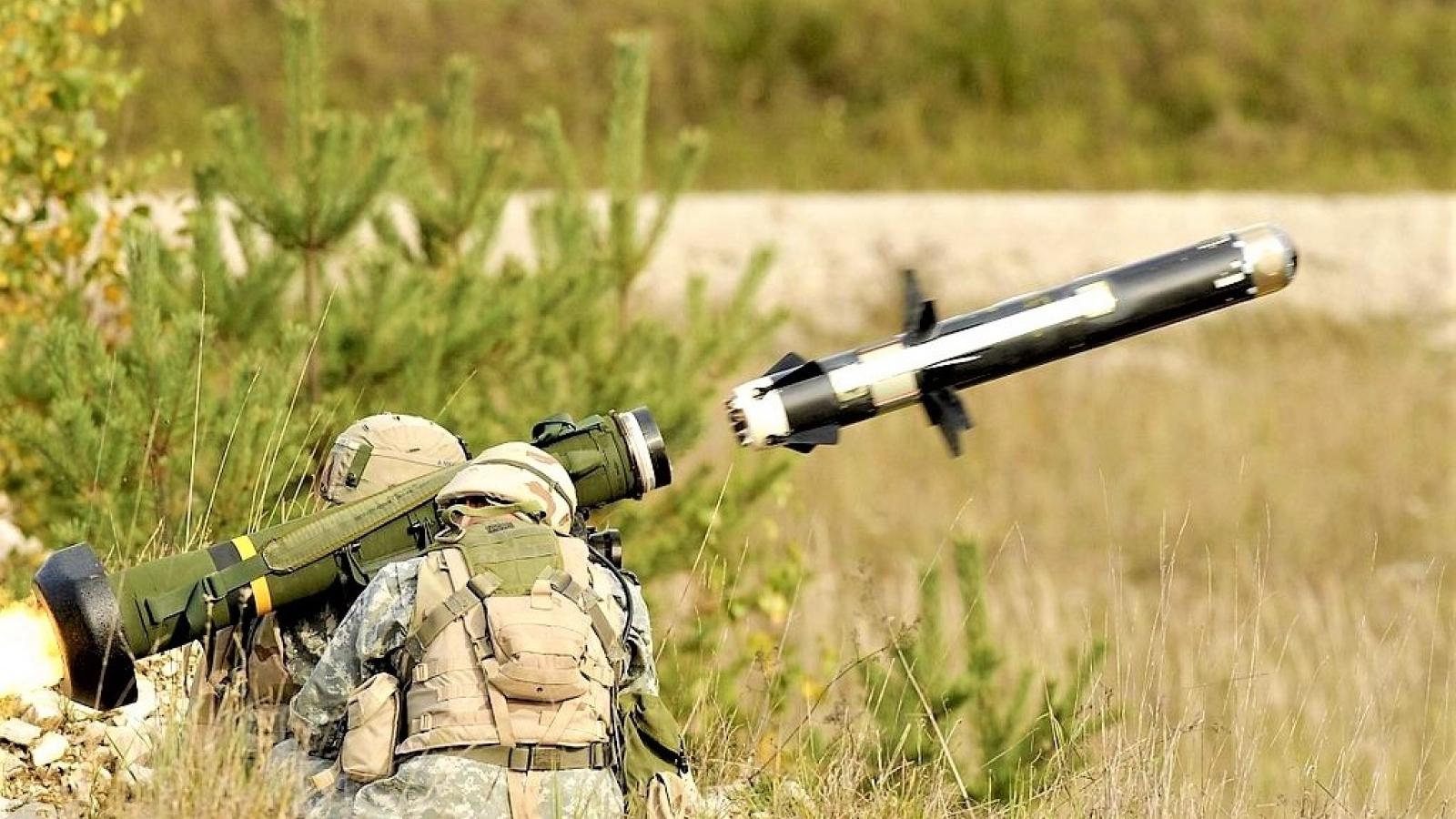 Thái Lan mua tên lửa chống tăng Javelin của Mỹ