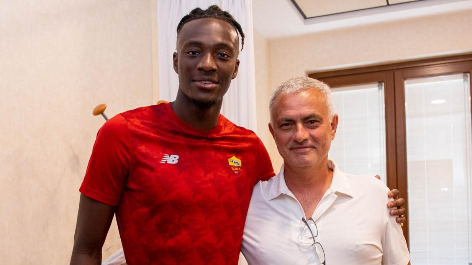 Jose Mourinho đích thân thuyết phục Tammy Abraham tới AS Roma