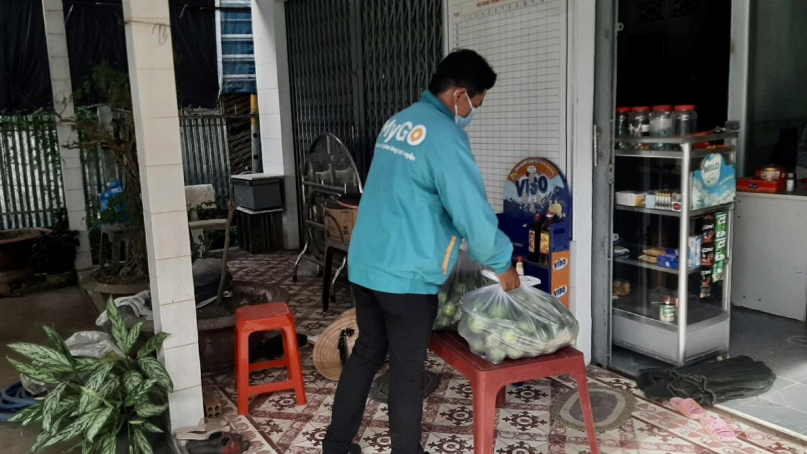 Hậu Giang thực hiện hơn 16.000 đơn hàng đi chợ hộ người dân