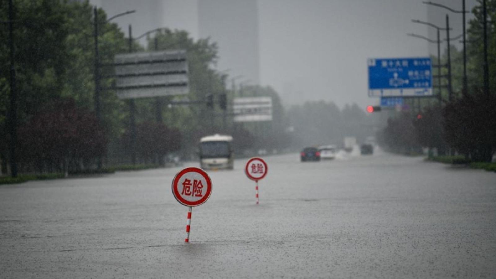 Trung Quốc thành lập Nhóm công tác điều tra sự cố mưa lũ tại Trịnh Châu