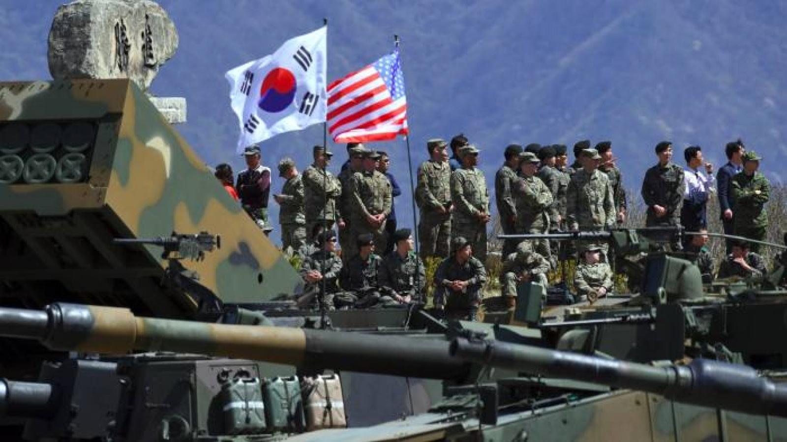 Hàn-Mỹ kết thúc tập trận chung