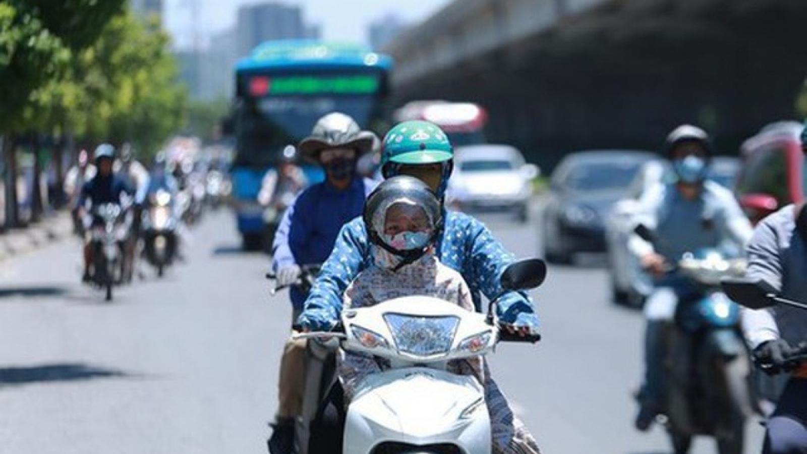 Thời tiết ngày 6/8: Hà Nội nắng nóng gay gắt