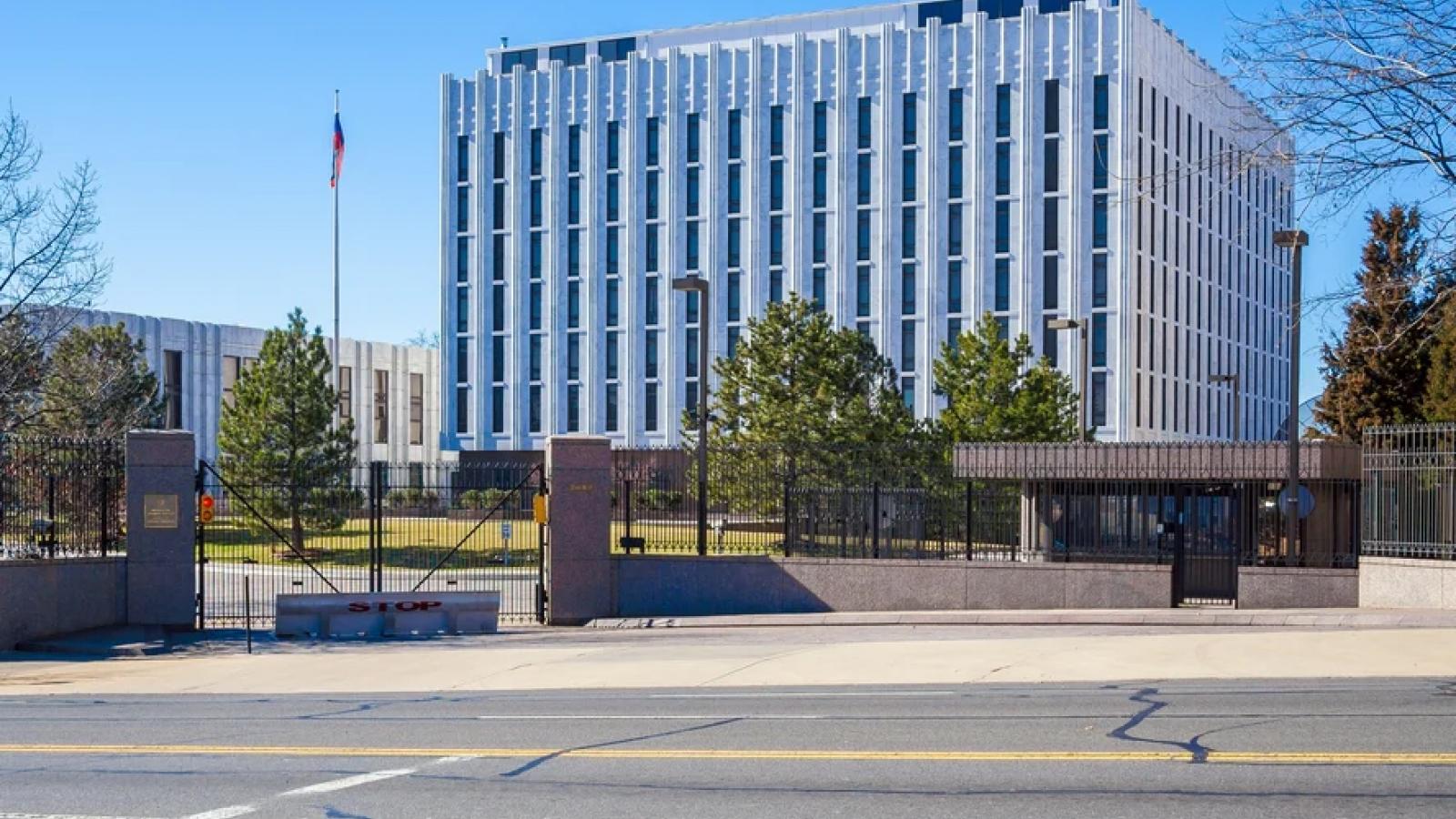 Mỹ yêu cầu 24 nhà ngoại giao Nga rời khỏi nước này trước ngày 3/9