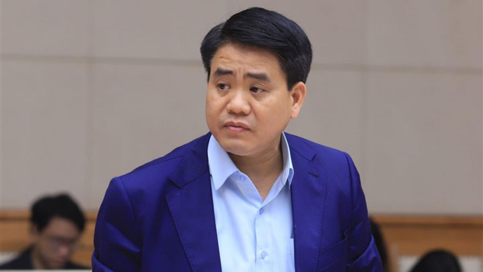 Vụ ông Nguyễn Đức Chung: Cán bộ cấp dưới dễ dàng thỏa hiệp với cái sai