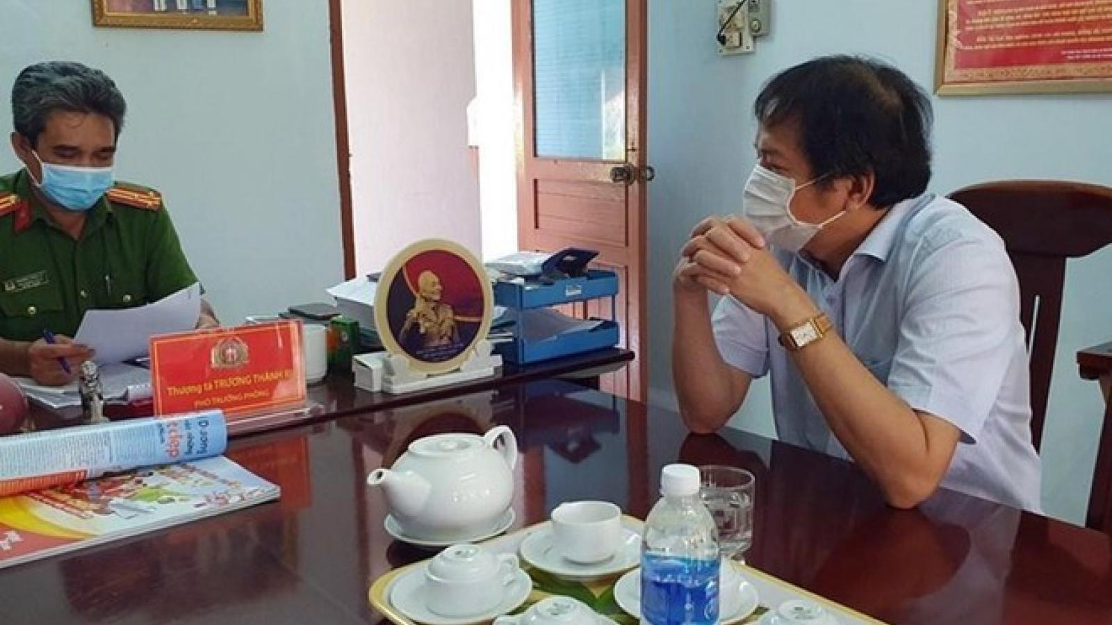 Tạm đình chỉ công tác 90 ngày với Phó Cục trưởng Cục thuế Phú Yên để phục vụ điều tra