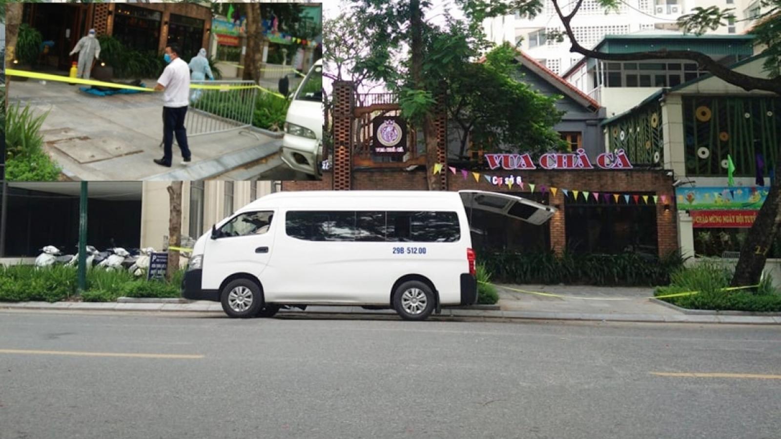Nhân viên bảo vệ tử vong trong nhà hàng ở Hà Nội âm tính với SARS-CoV-2