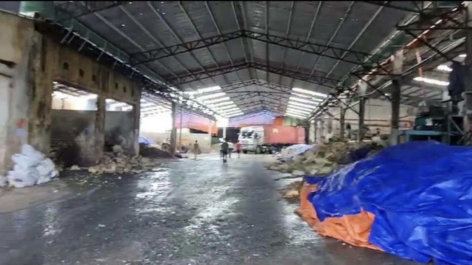Bà Rịa-Vũng Tàu dừng hoạt động nhà máy cao su vi phạm quy định phòng chống dịch