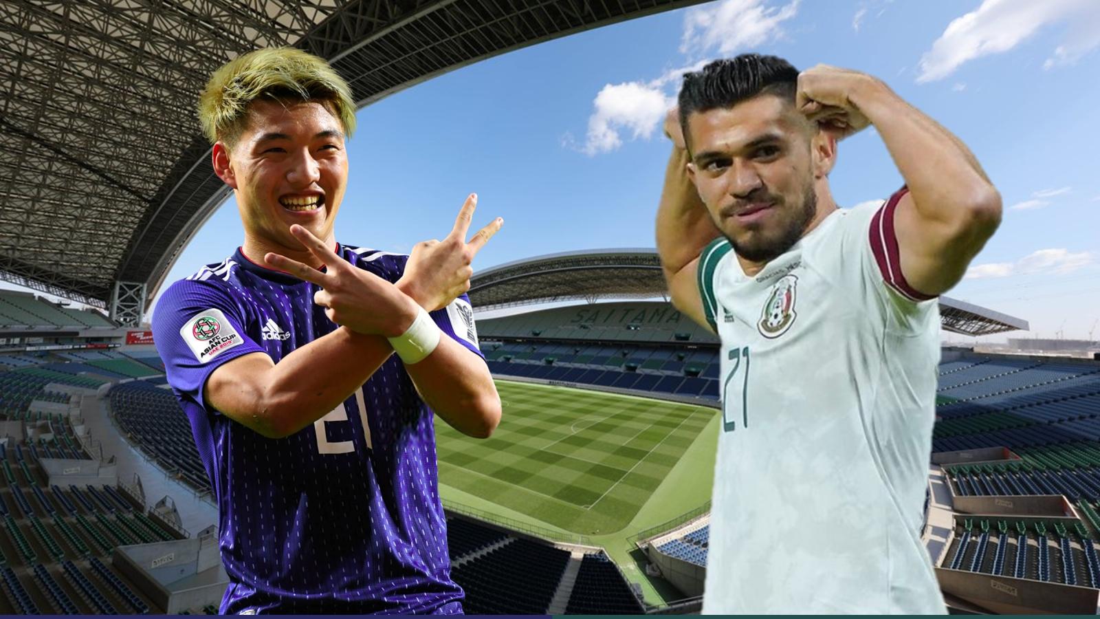 Dự đoán tỷ số, đội hình xuất phát trận Nhật Bản - Mexico