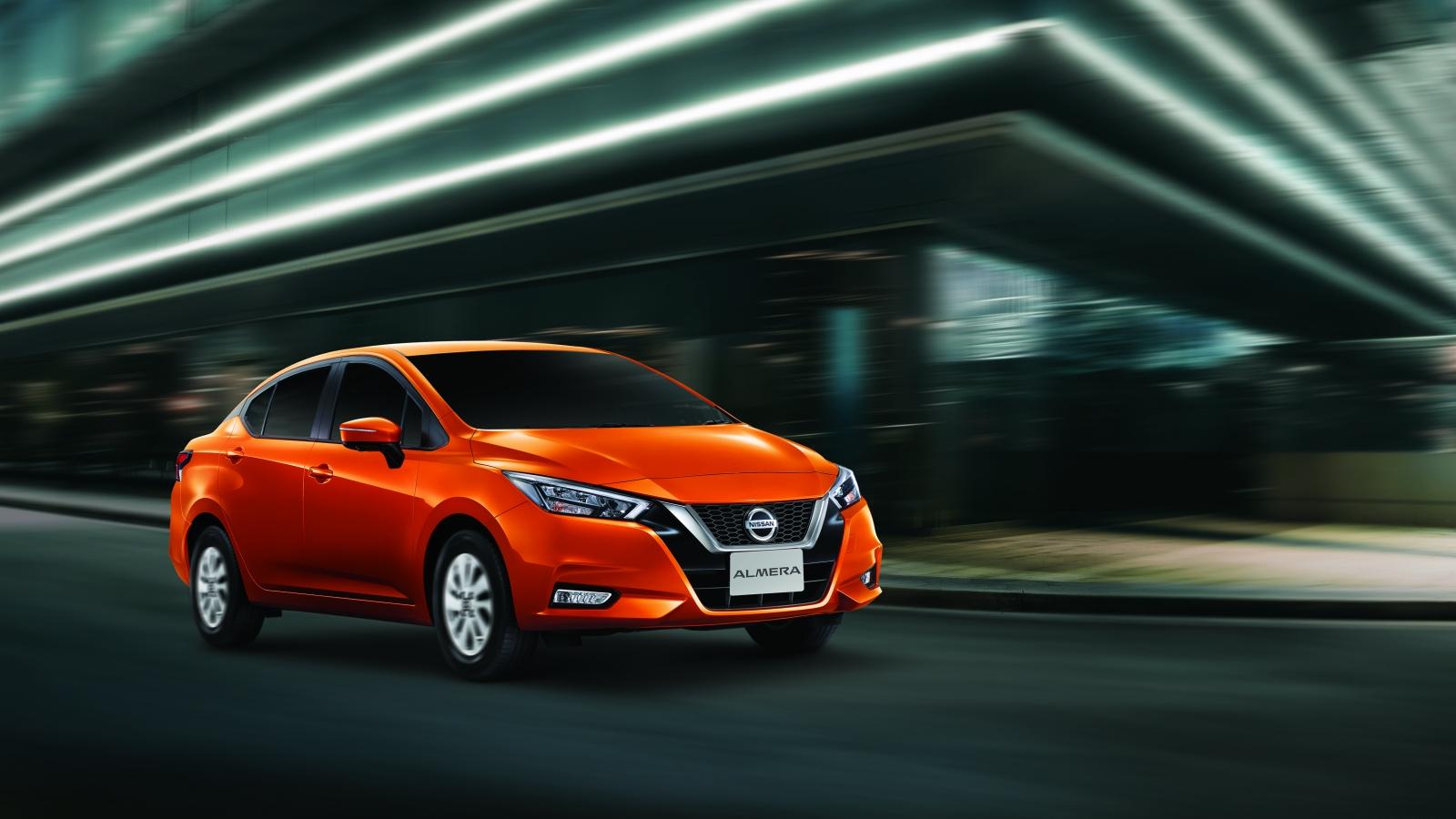 """Ảnh chi tiết Nissan Almera - đối thủ """"nặng ký"""" của Toyota Vios và Hyundai Accent"""
