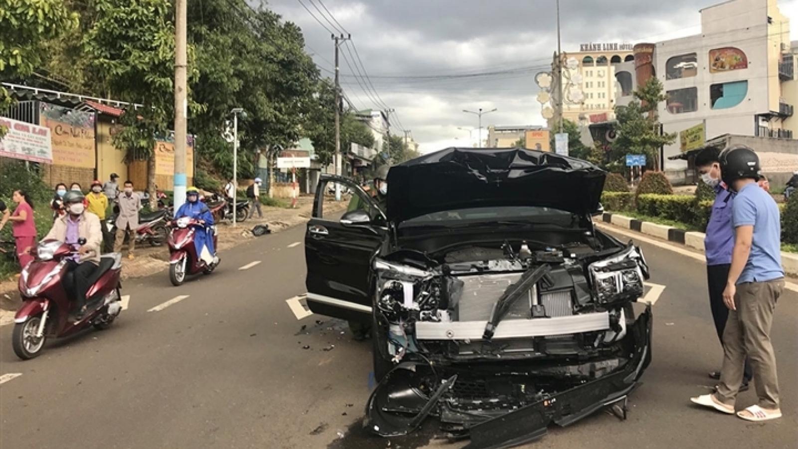 Vụ tông xe nổ súng ở Gia Lai: Xuất phát từ mâu thuẫn nợ nần