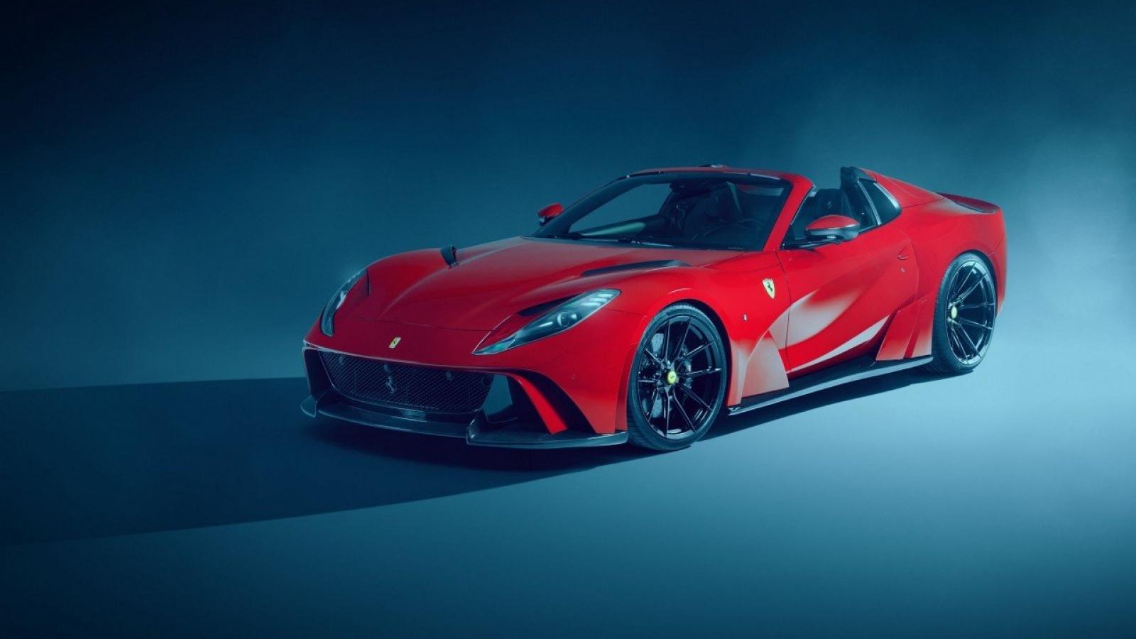 """Ferrari 812 GTS """"ngầu"""" hơn với gói độ giới hạn 18 bộ trên thế giới"""