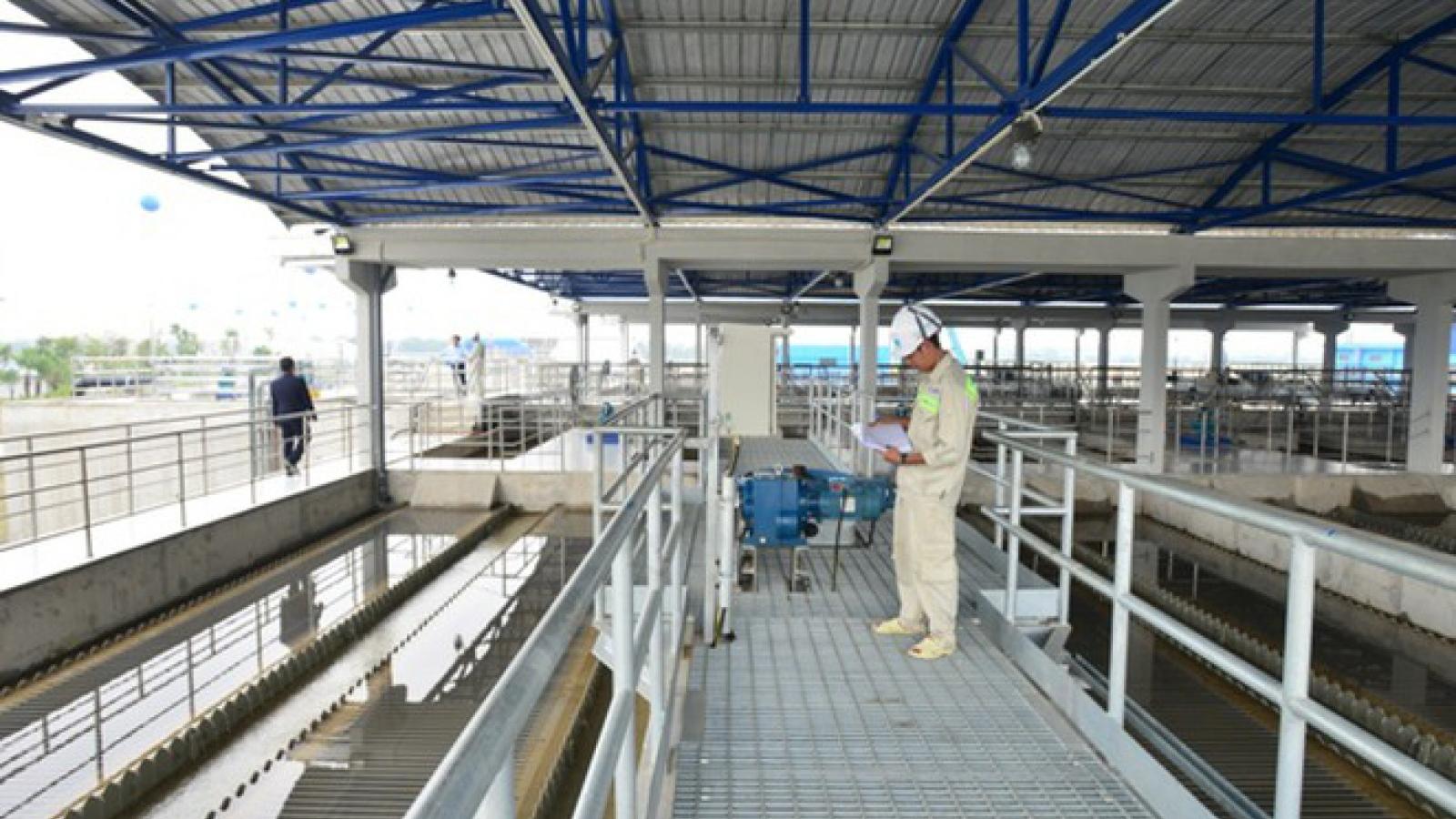 Hà Nội điều chỉnh giảm giá nước sinh hoạt