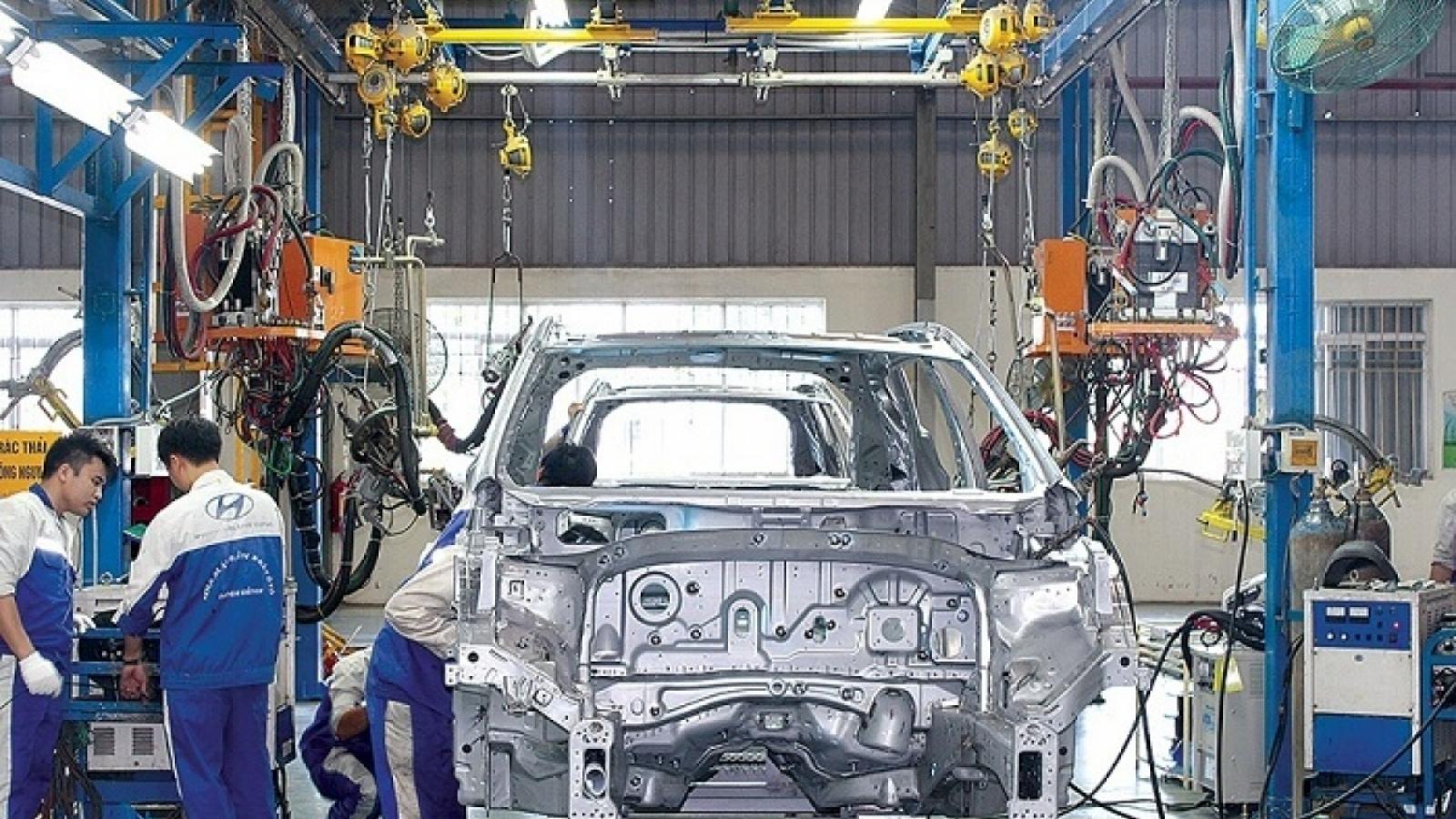 Đề xuất điều chỉnh chương trình ưu đãi thuế đối với ô tô sản xuất, lắp ráp trong nước