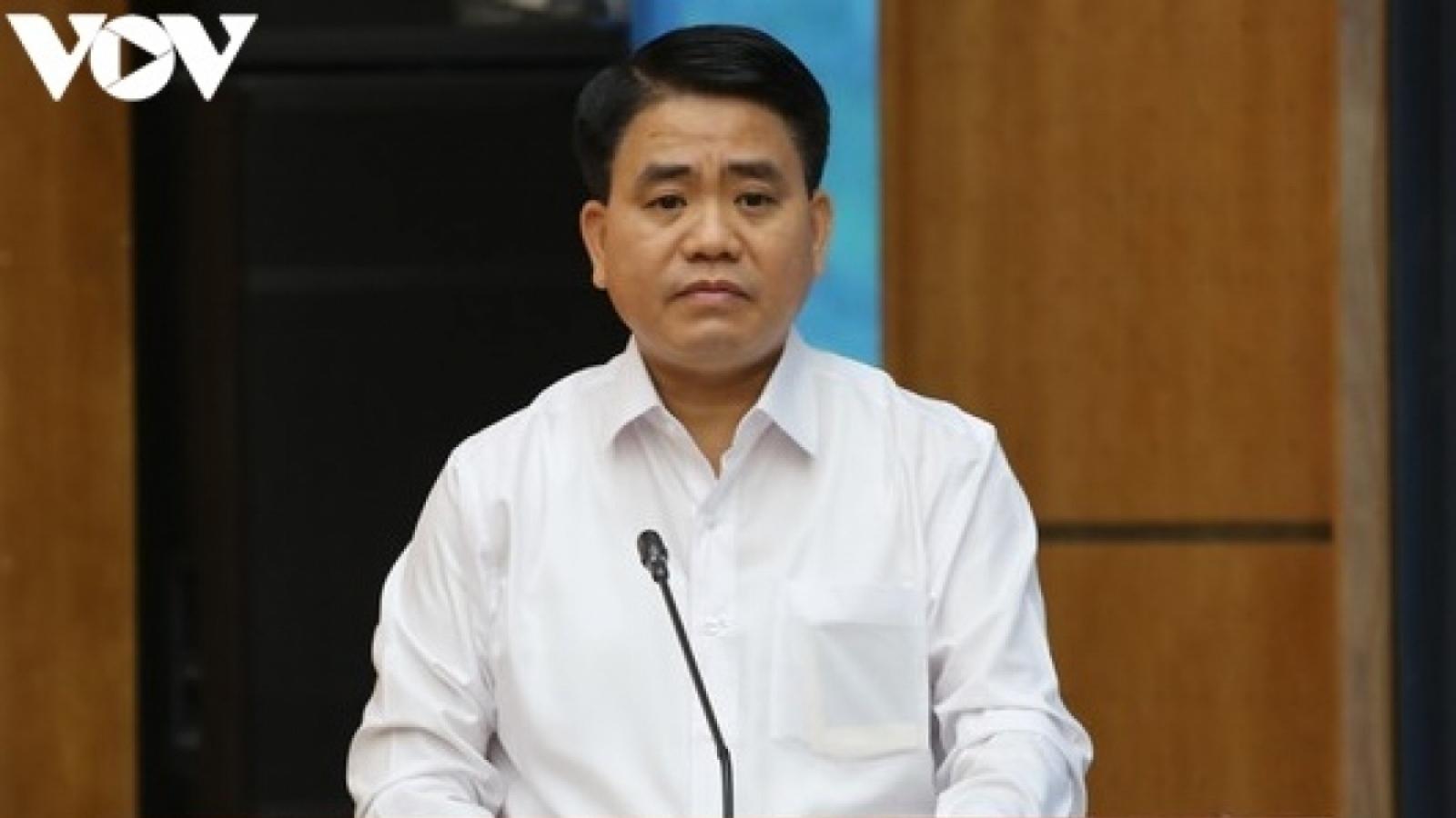 Ông Nguyễn Đức Chung chỉ đạo miệng có lợi cho công ty của vợ con