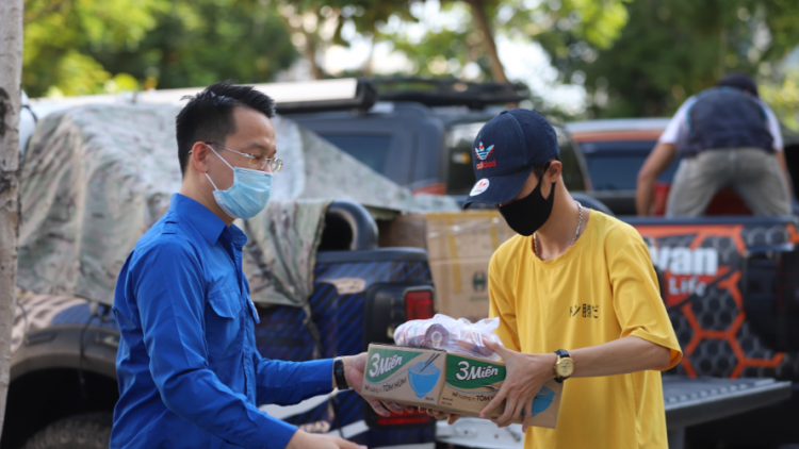 Thành đoàn Đà Nẵng tặng nhu yếu phẩm hỗ trợ sinh viên