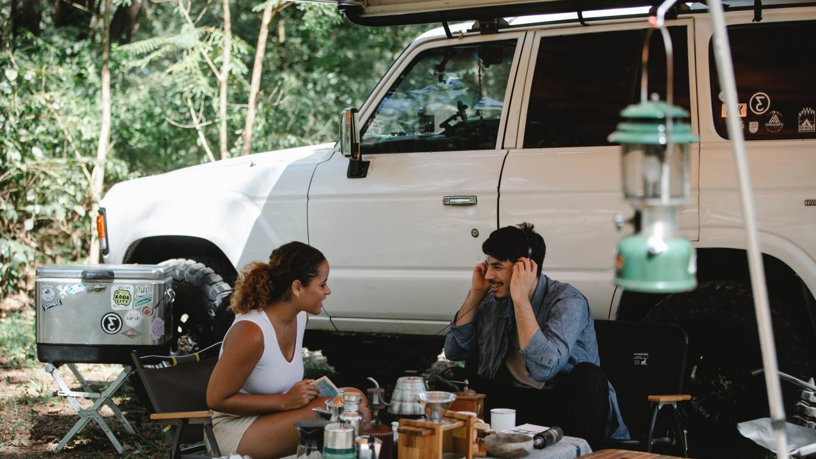 Kinh nghiệm cho chuyến du lịch đầu tiên bằng xe cắm trại